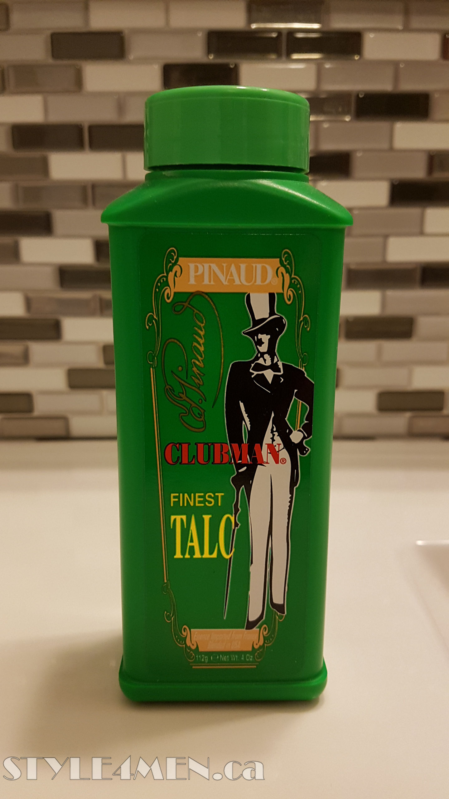 Pinaud-Clubman Talc – Still a great solution