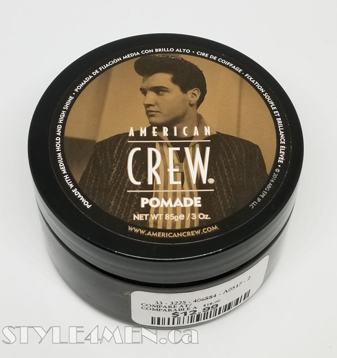 American Crew Pomade For Super Shine In A Water