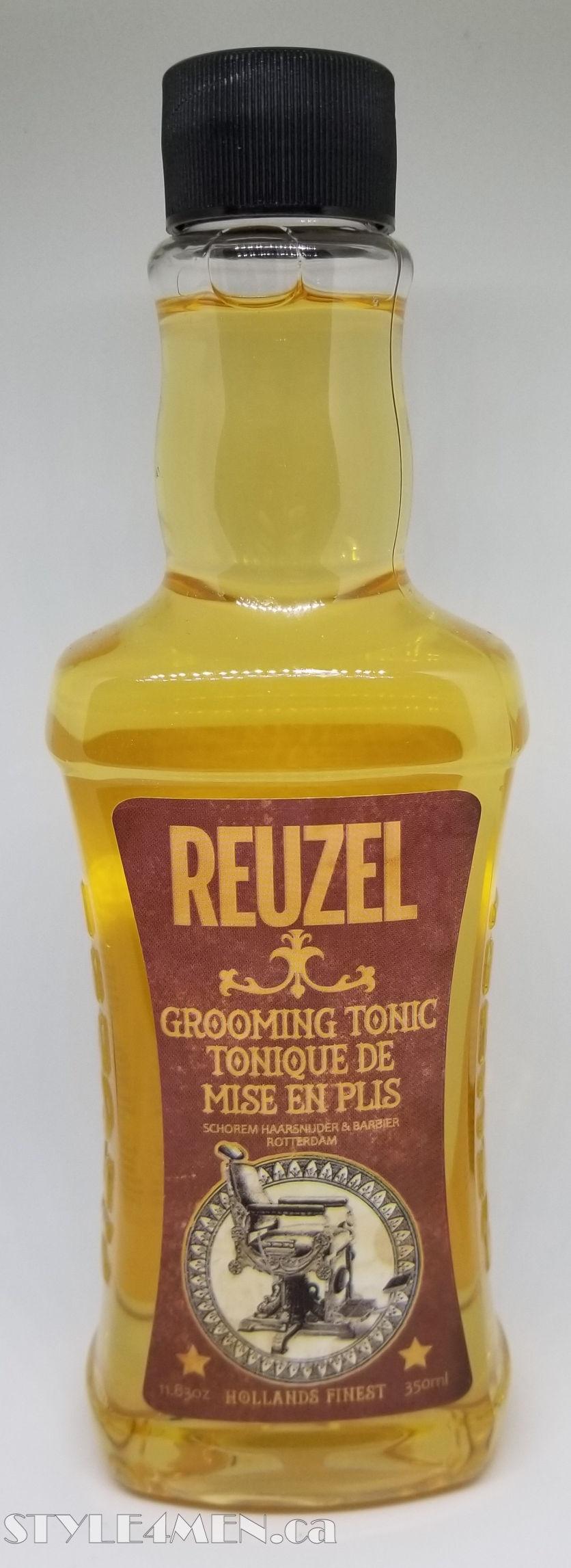 REUZEL Grooming Tonic – A Slightly Sticky Preparation Tonic
