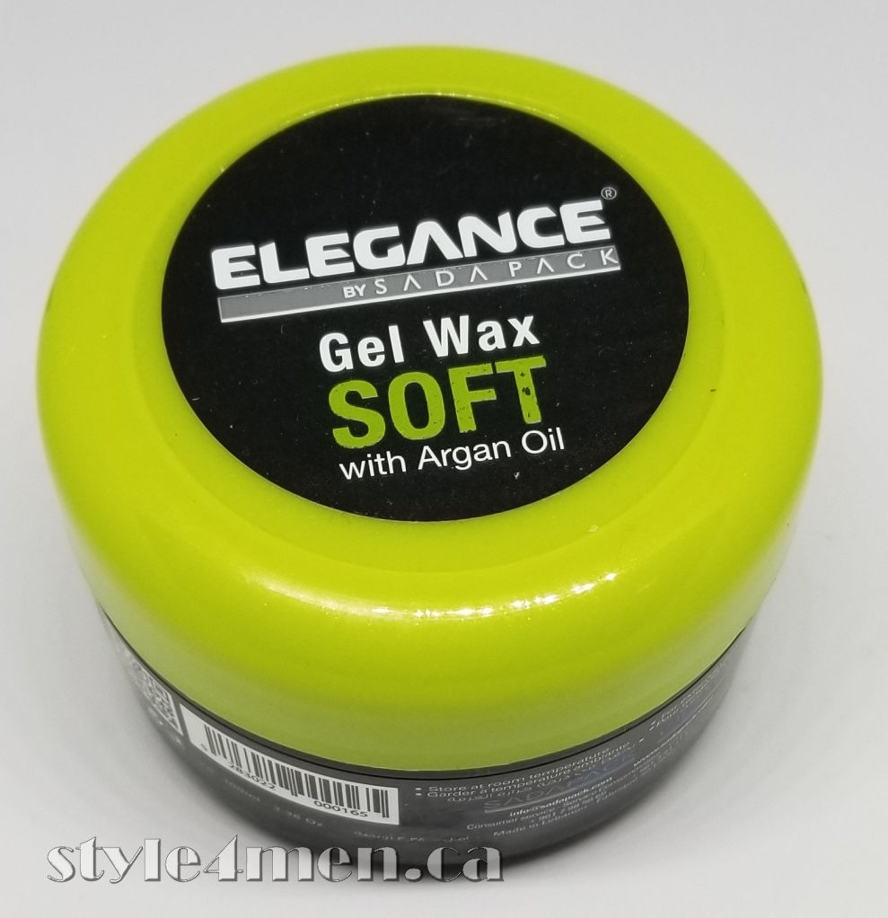 Elegance Gel Wax Soft A Firm Hold Pomade Style4men Ca