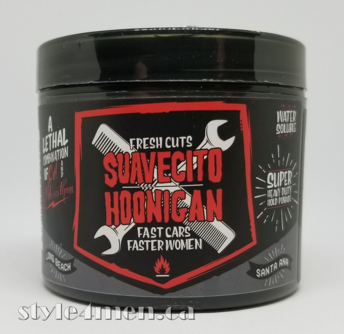 Hoonigan Suavecito Collaboration Pomade Serious Hold With A Original Firme Strong Made In Usa