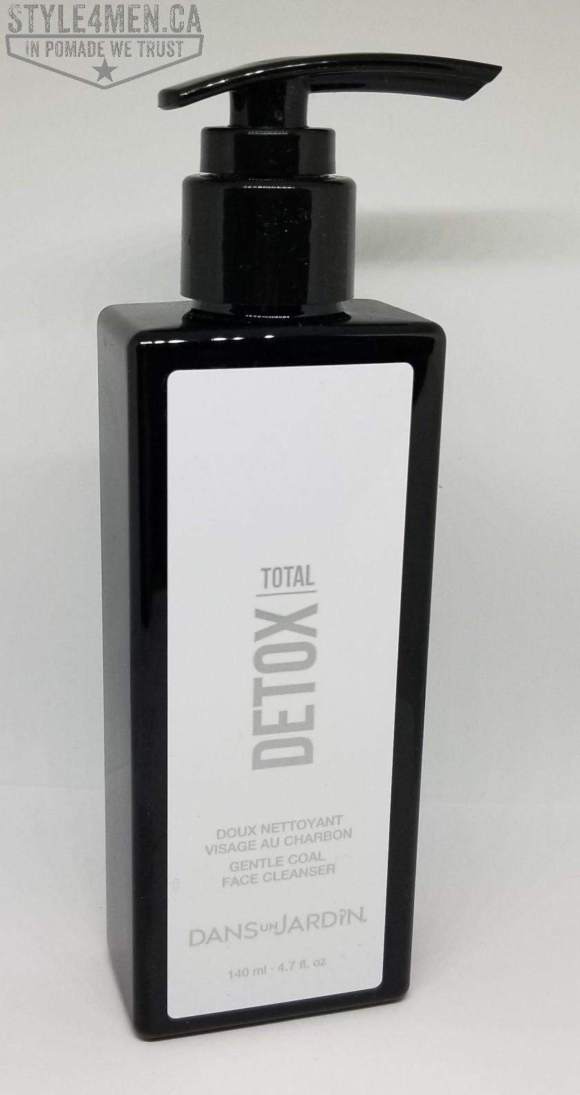 TOTAL DETOX Charcoal Face Wash from 'Dans un Jardin '