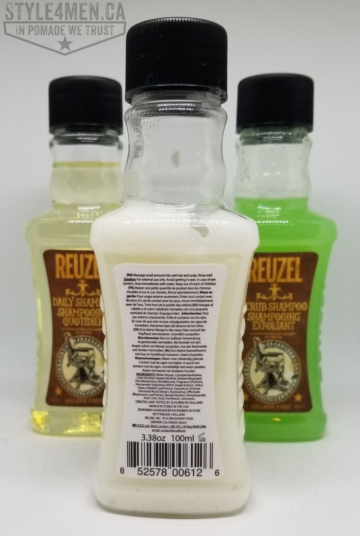 REUZEL Shampoo conditioner Set
