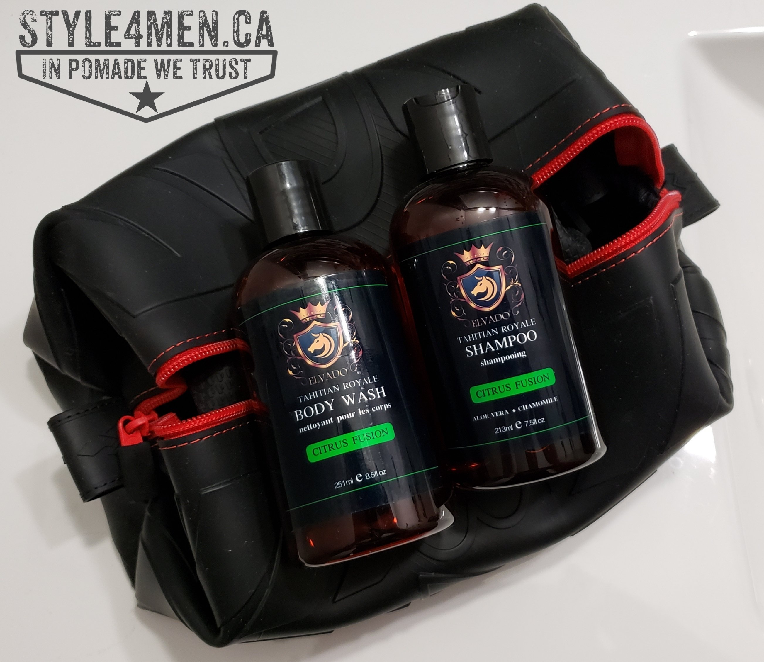 Shampoo and Body Wash by Elvado for Men