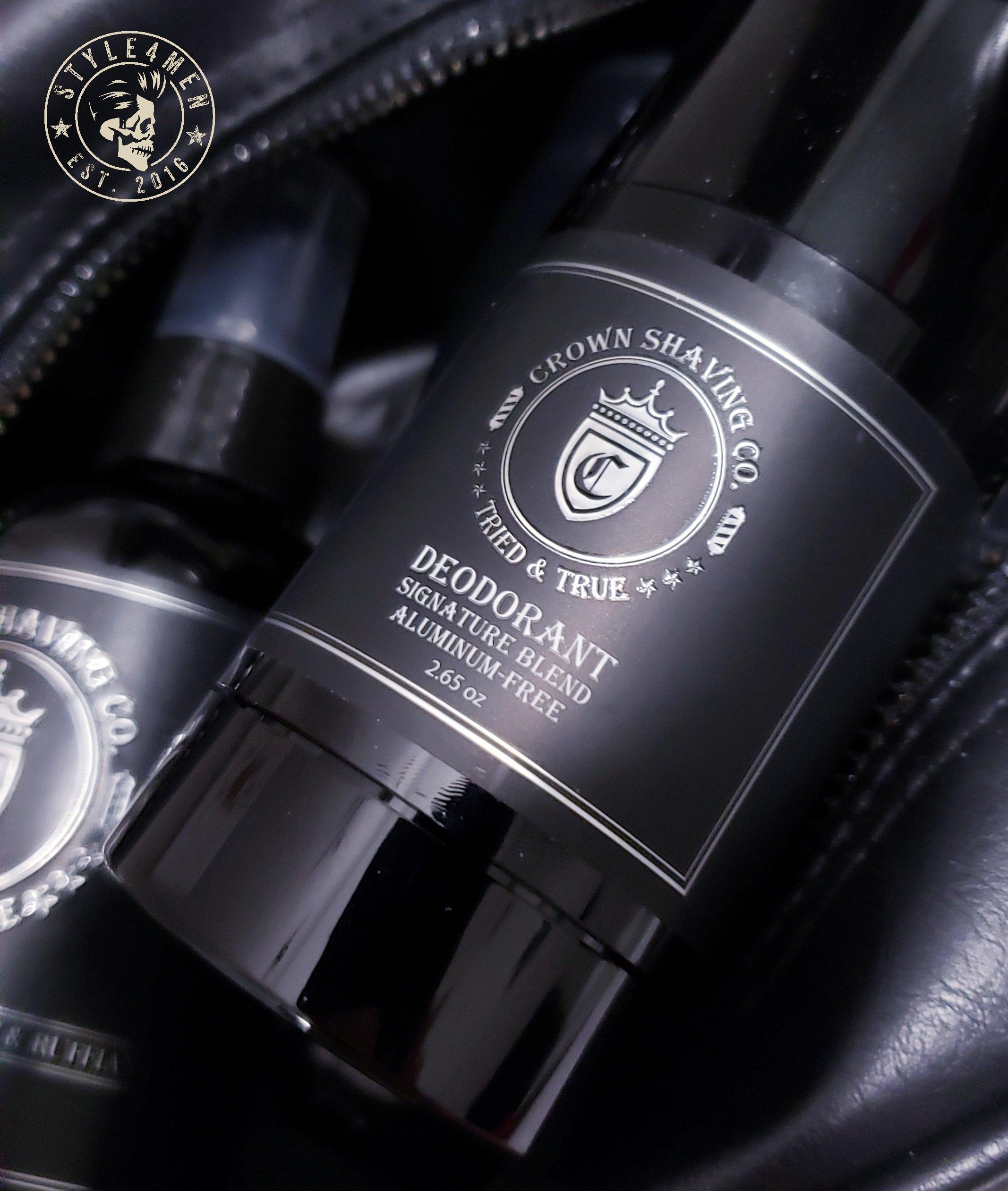 Signature Scent Deodorant by Crown Shaving
