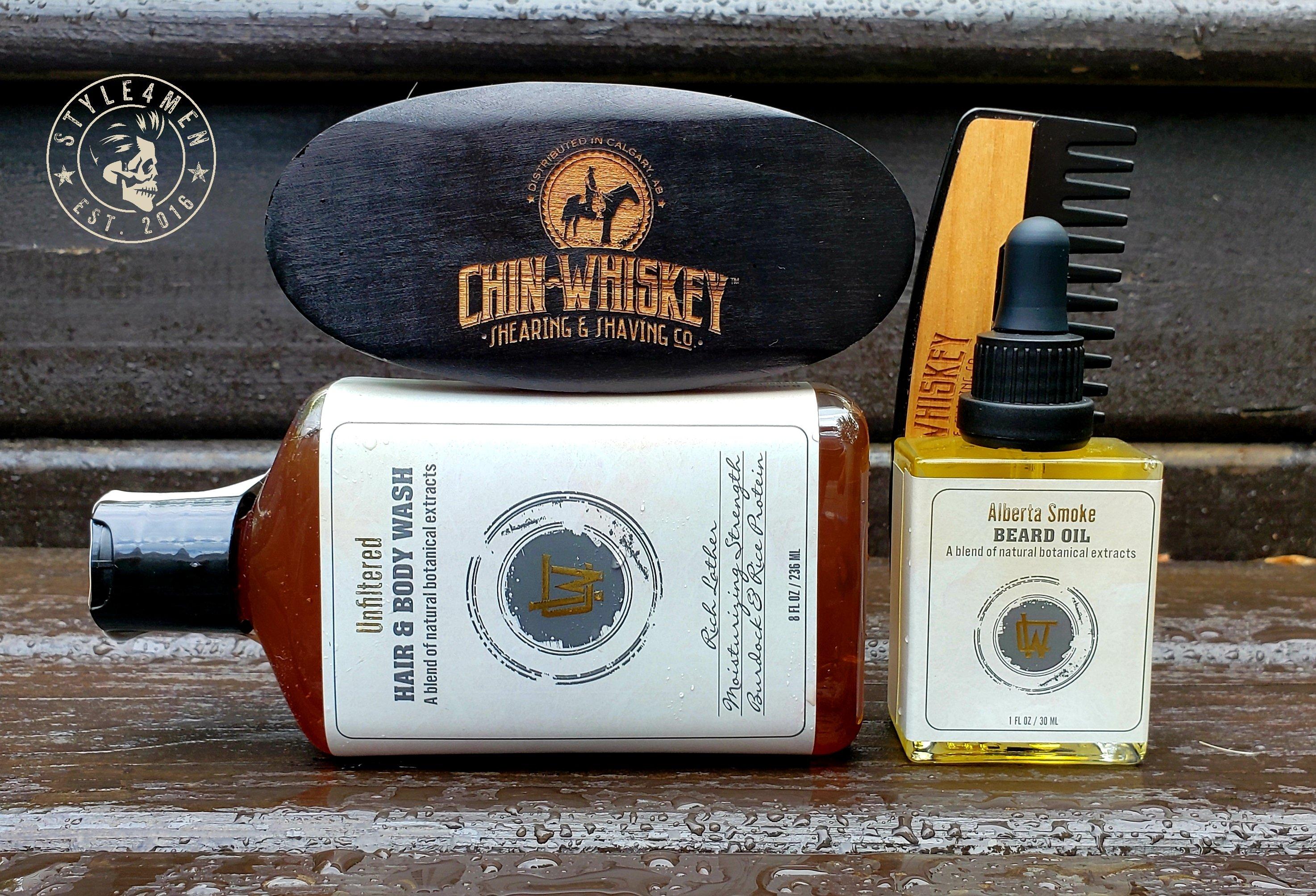 The Alberta Smoke Beard Kit by Chin Whiskey