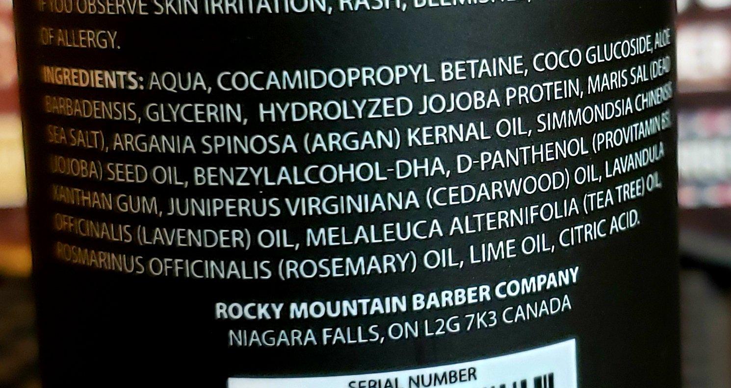 Rocky Mountain Beard Wash