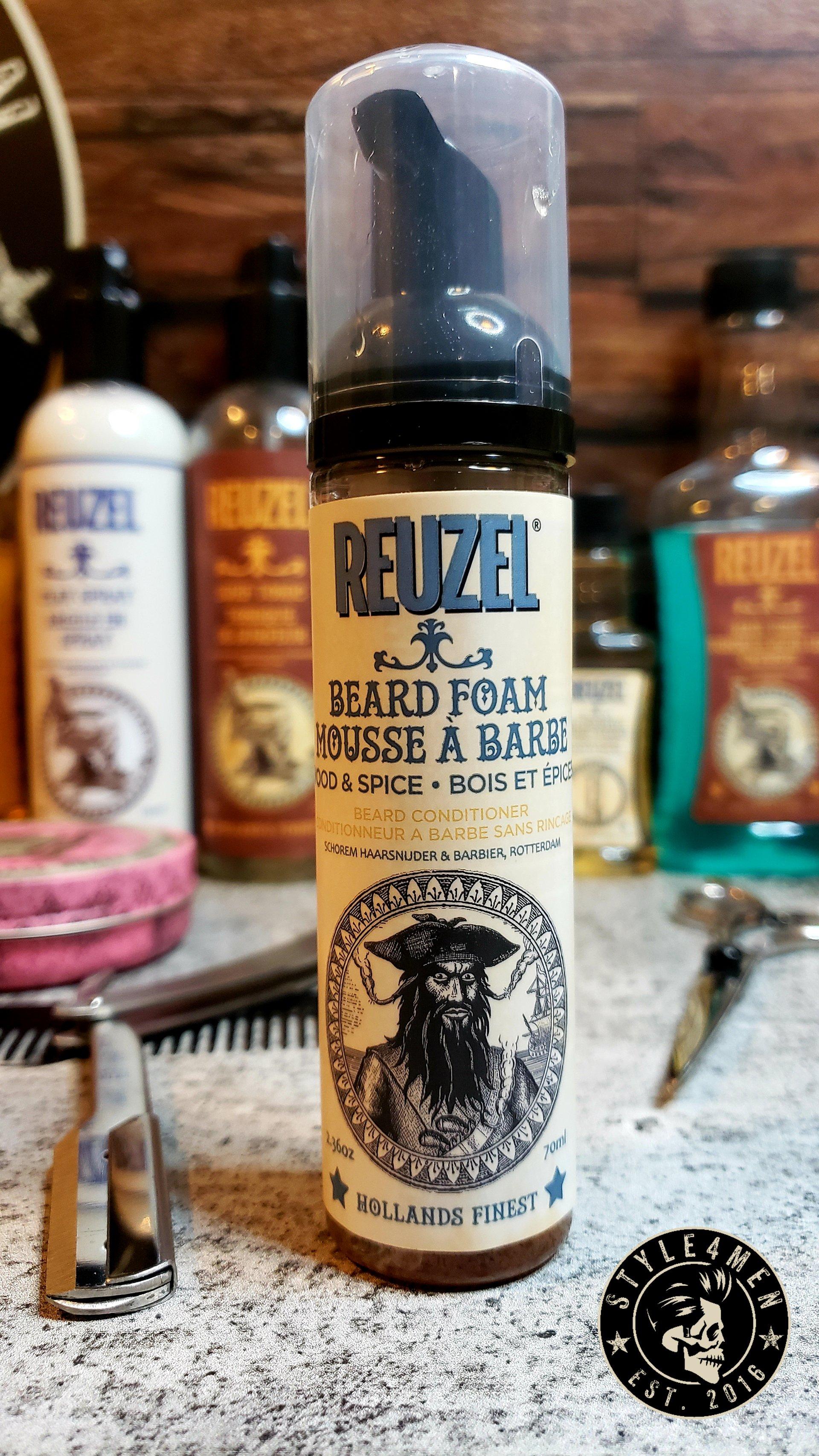 REUZEL's Beard Foam – The convenience that was missing