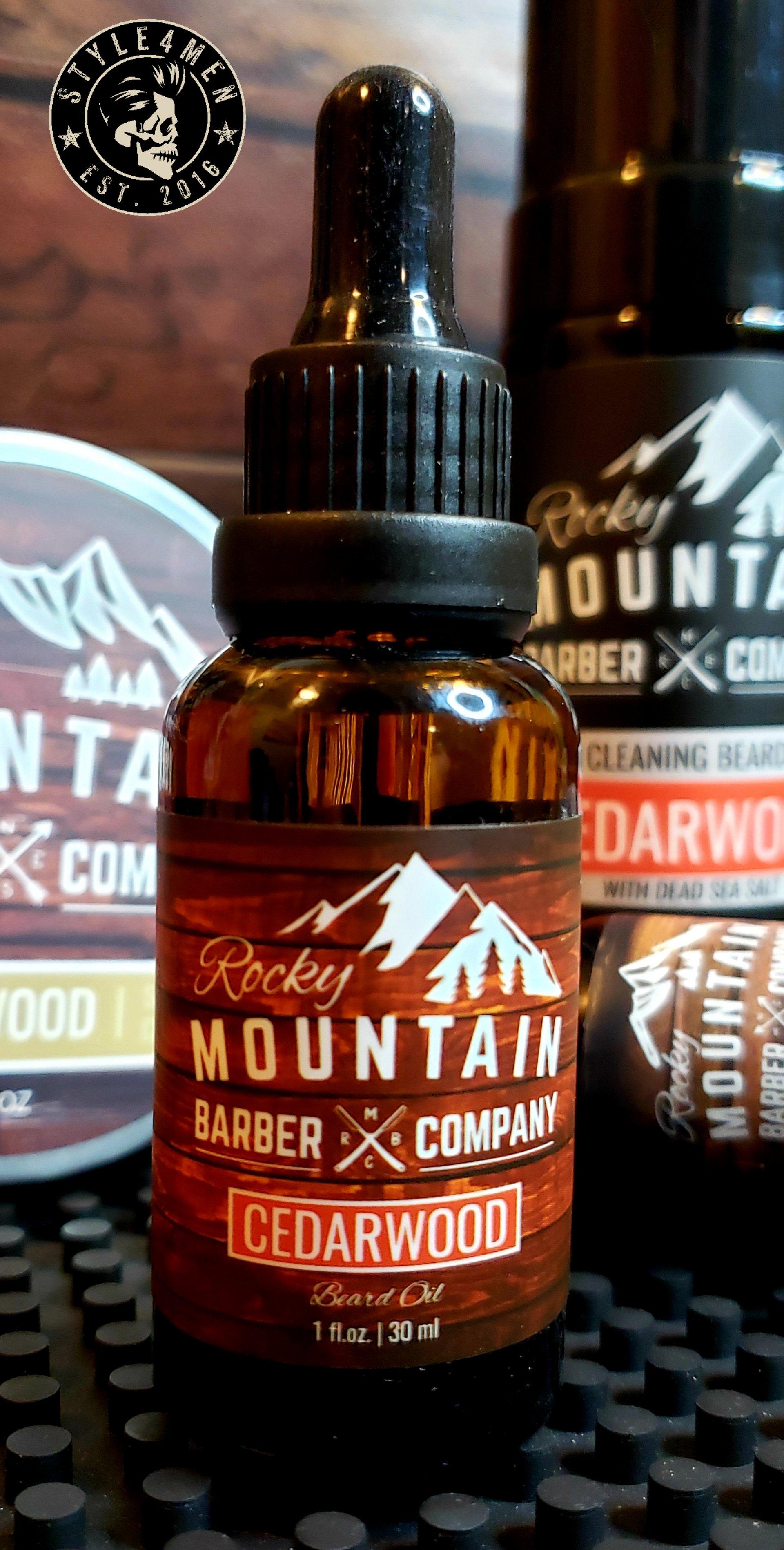 Rocky Mountain Beard Oil