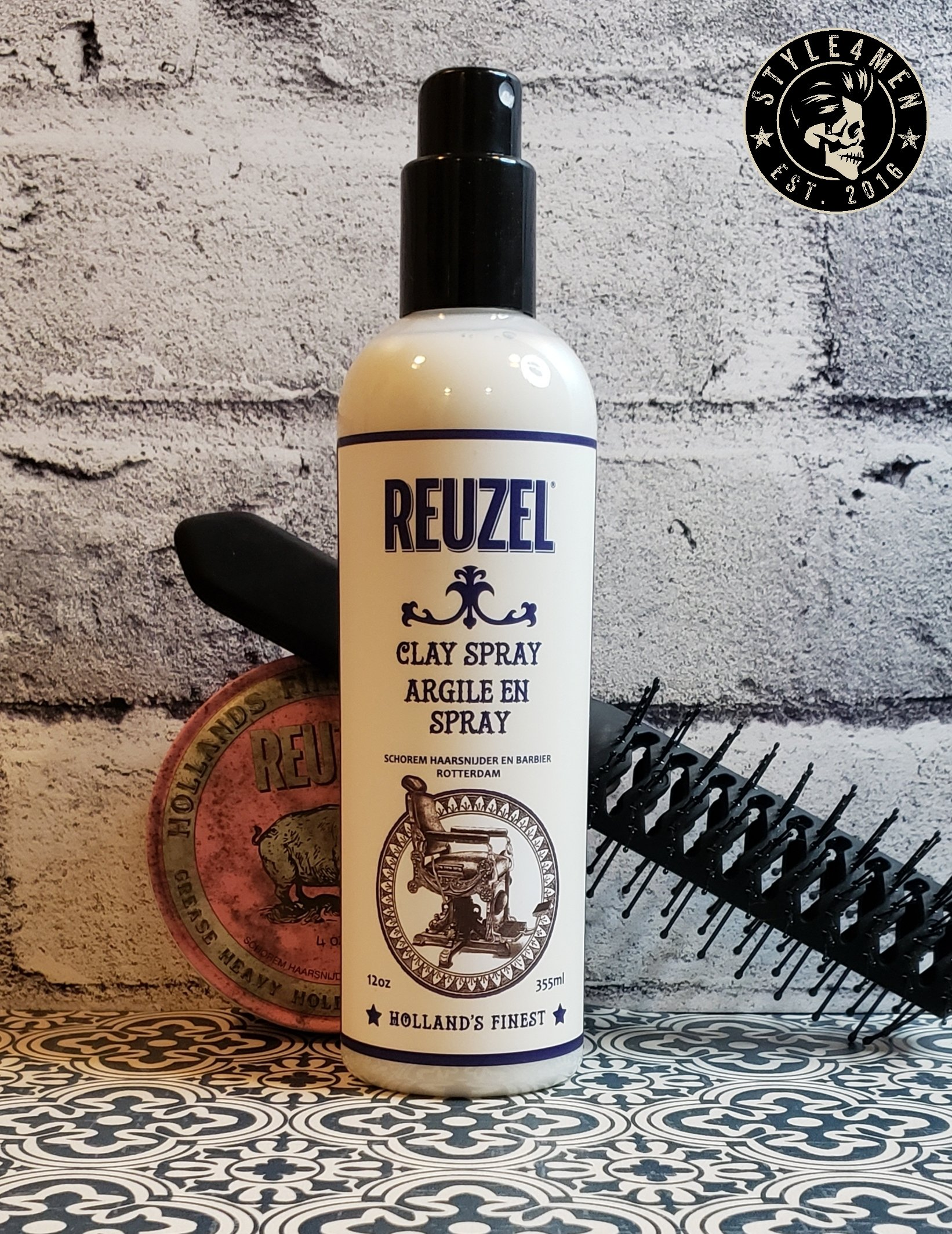 REUZEL's latest 'Clay Spray' reinvents pre-styling