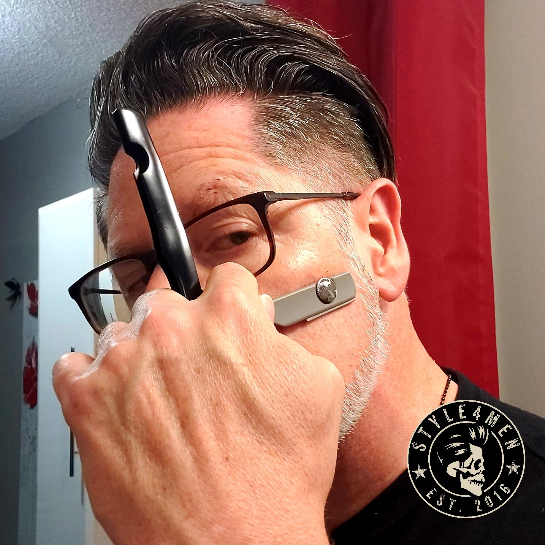 Shaving with and Irving Straight Razor