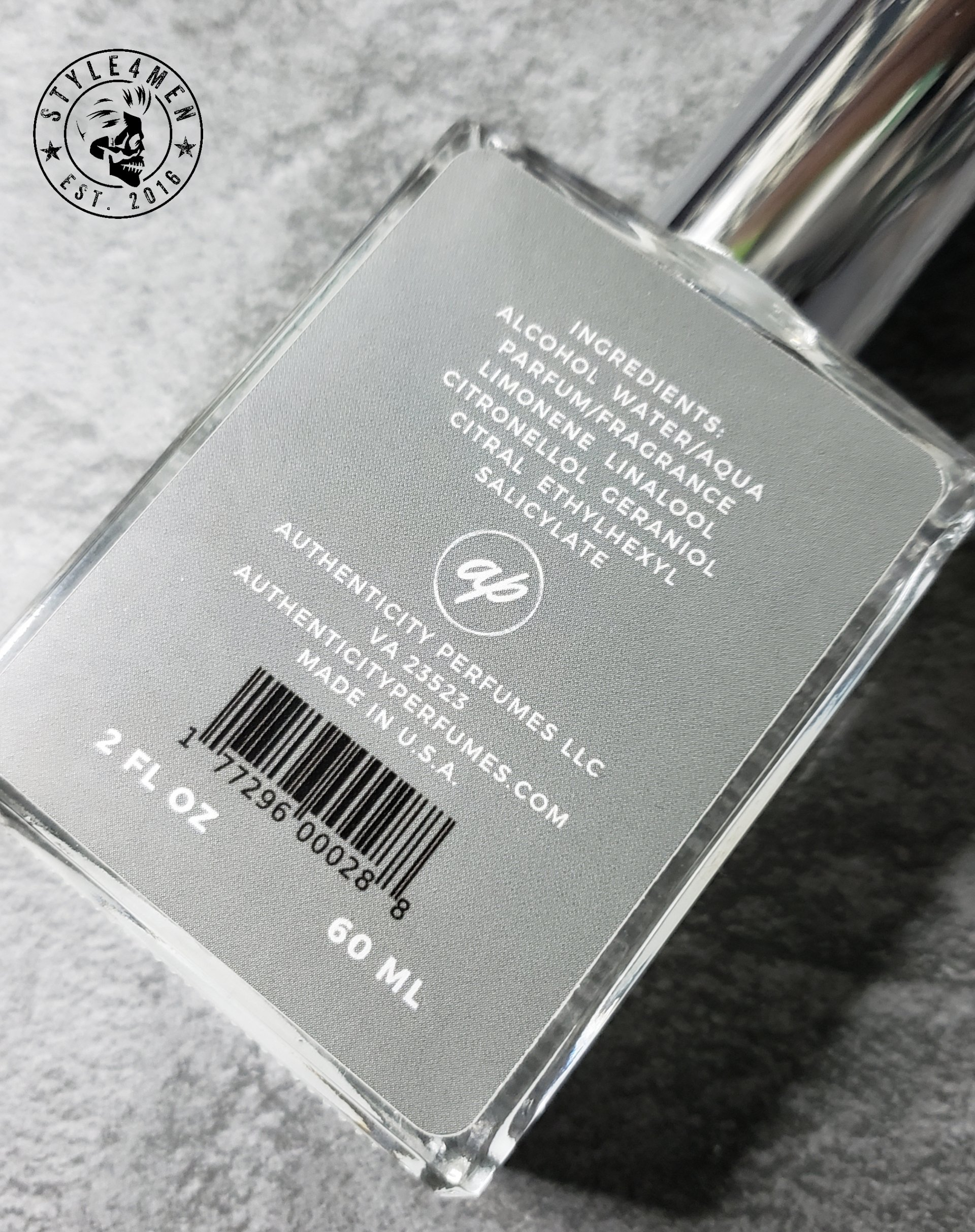 Authenticity Perfumes Silver Luxe
