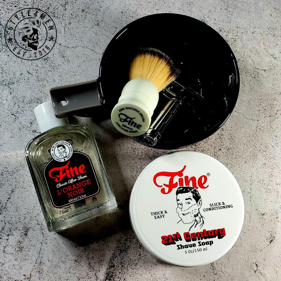 Fine Accoutrements – L'Orange Noir Shave Soap / Aftershave & Lather Bowl