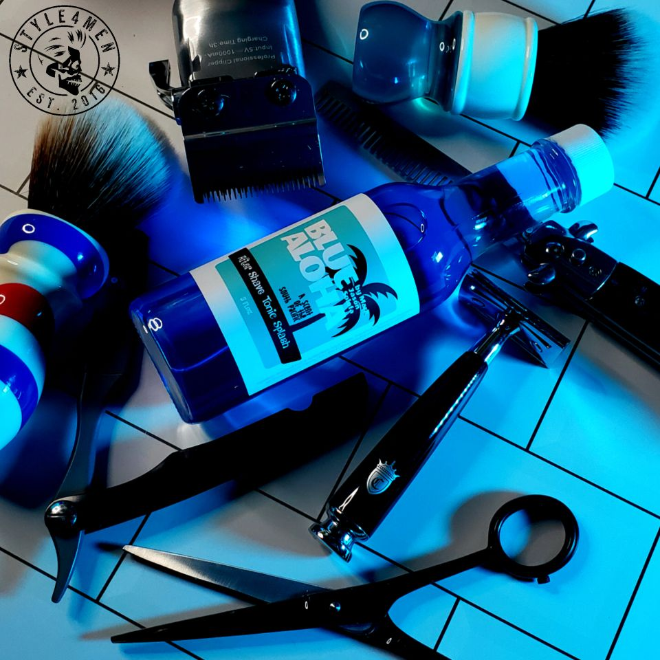 BLUE ALOHA After Shave Tonic Splash
