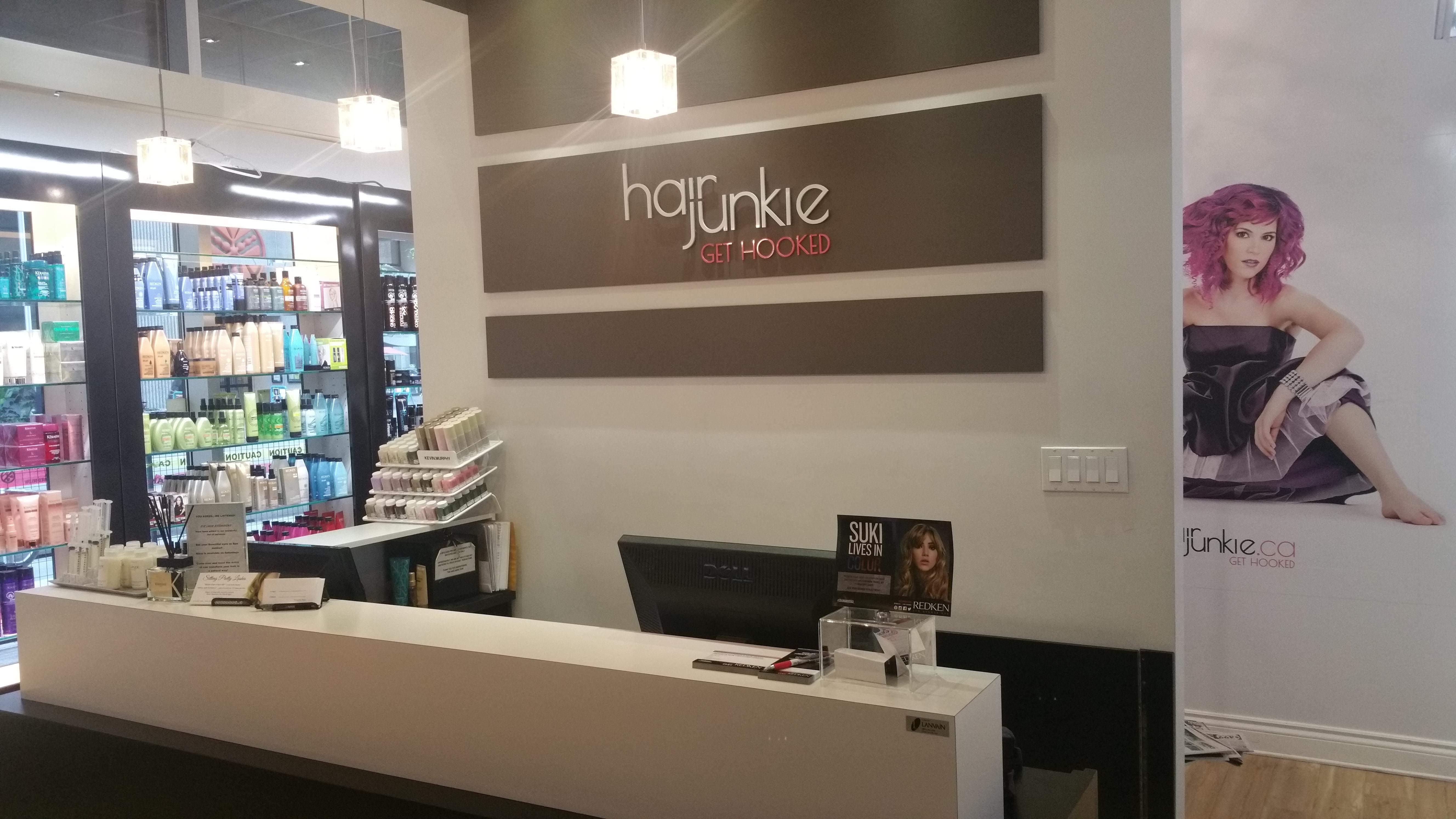 A Visit at Hair Junkie