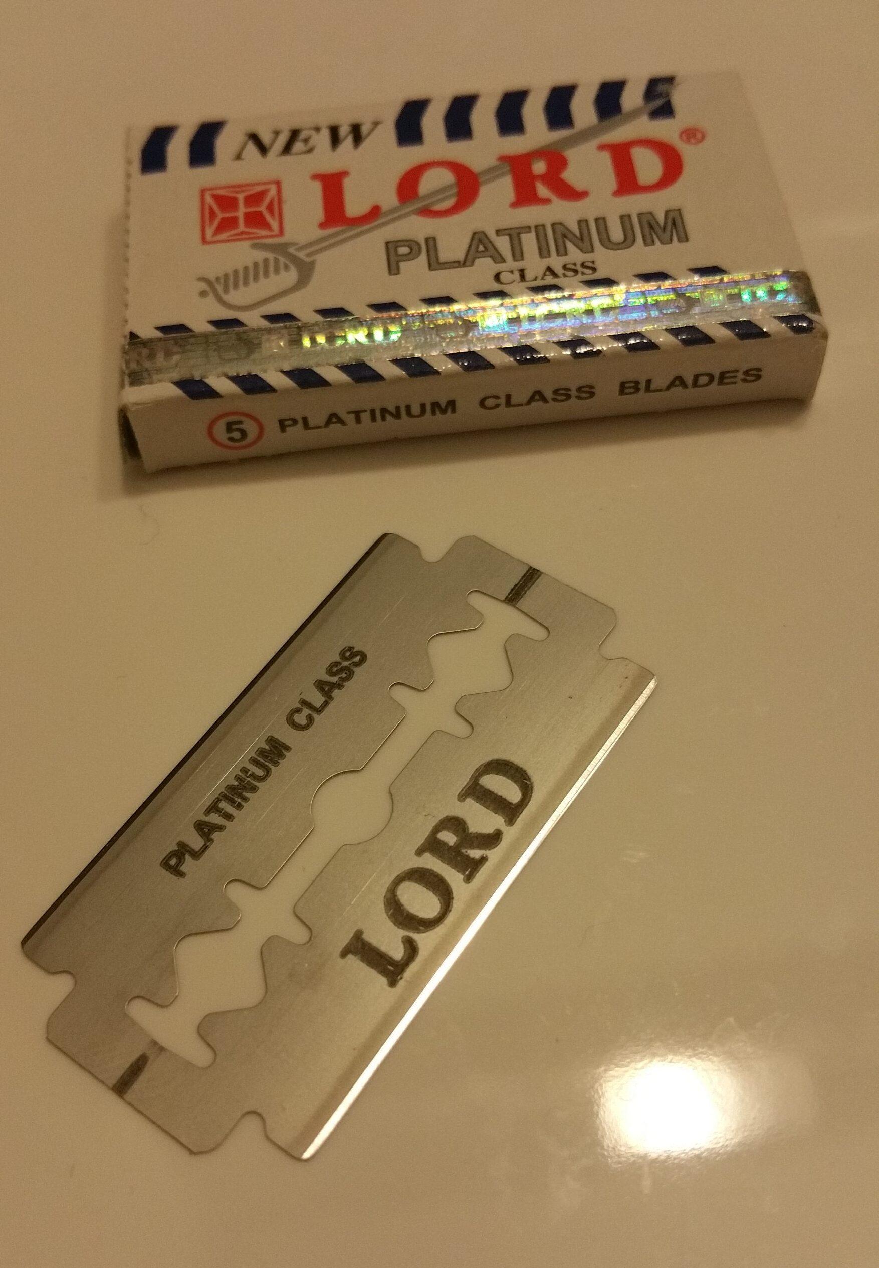 LORD Platinum Razor Blade
