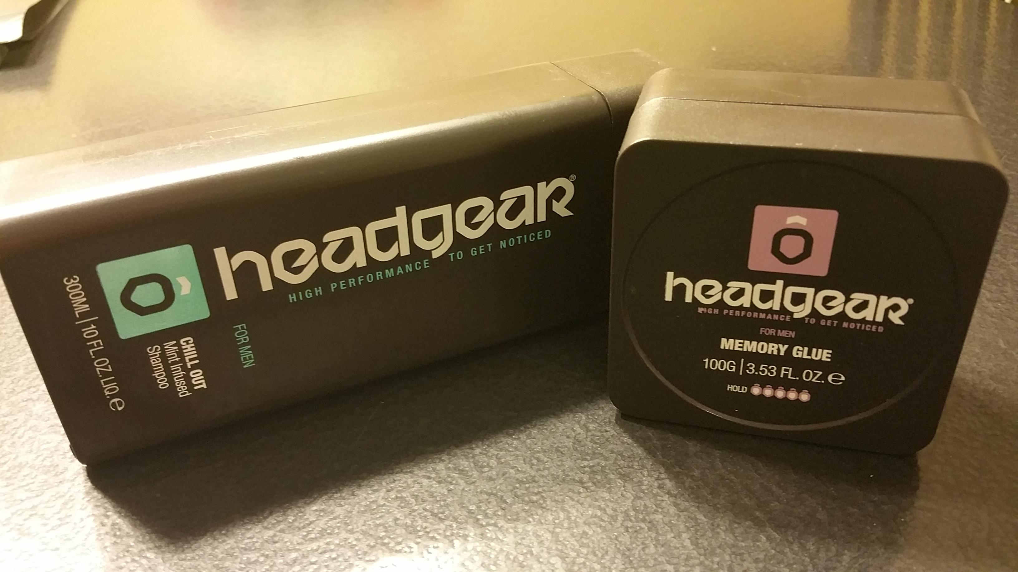 HEADGEAR Chill Out Shampoo & Memory Glue