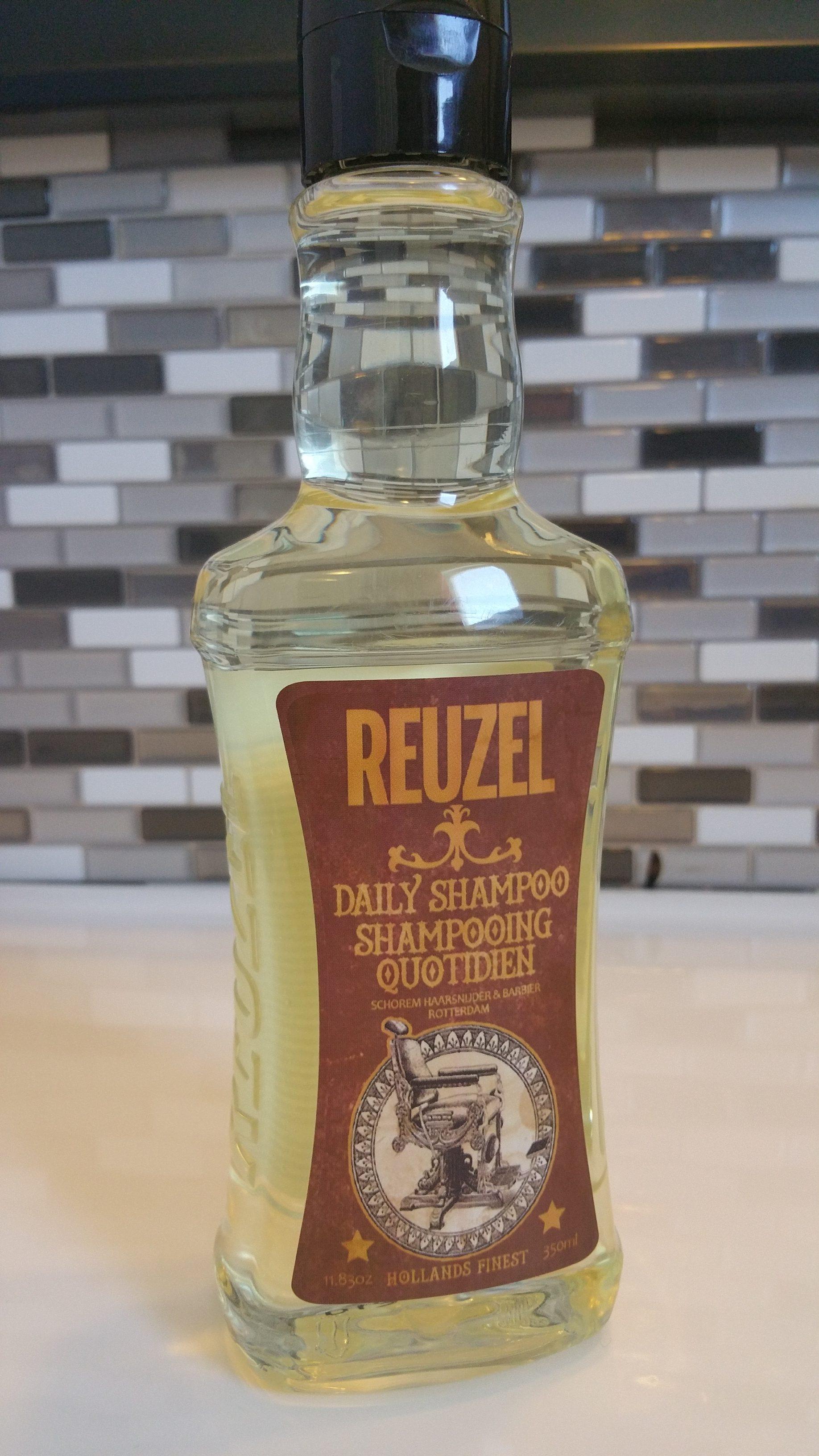 REUZEL Daily Shampoo – a deep cleaner