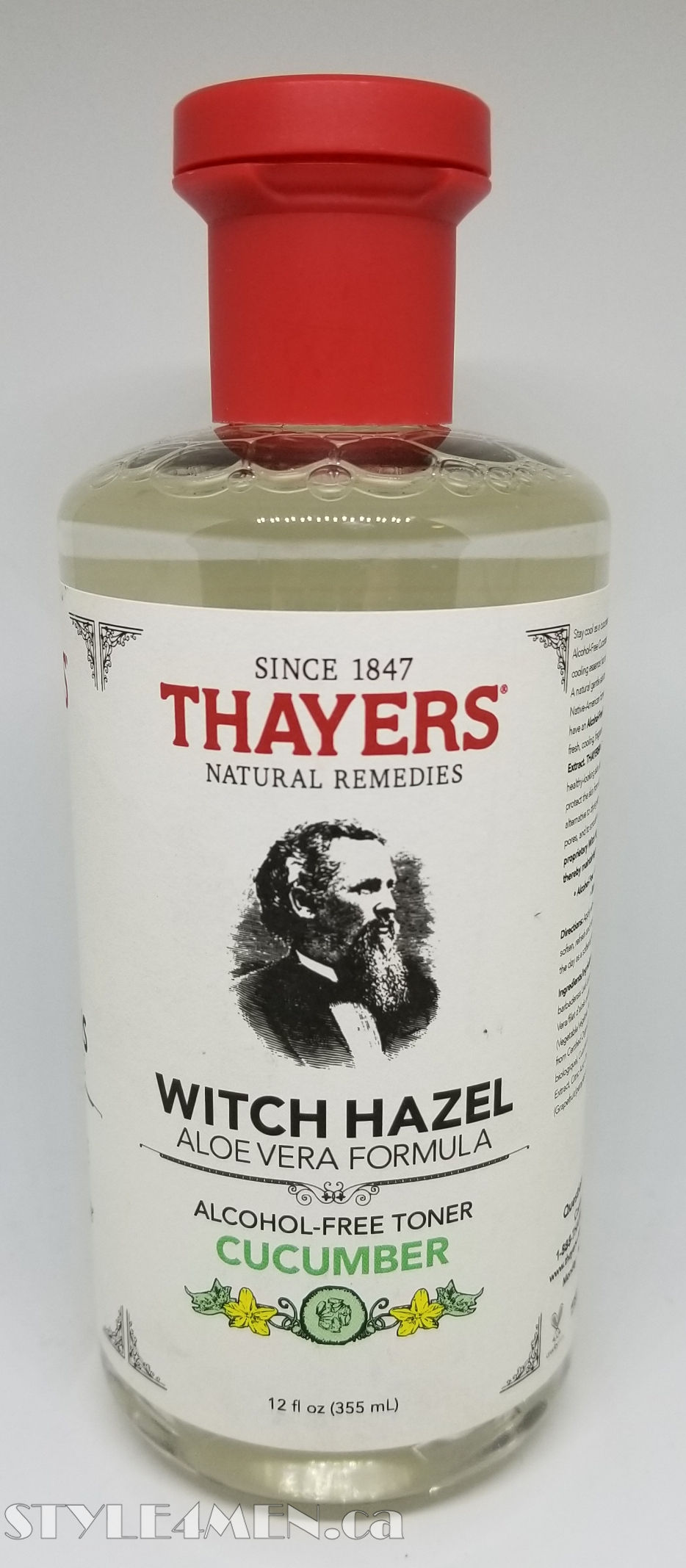Thayers Toner – Revisited as a refreshing face wash