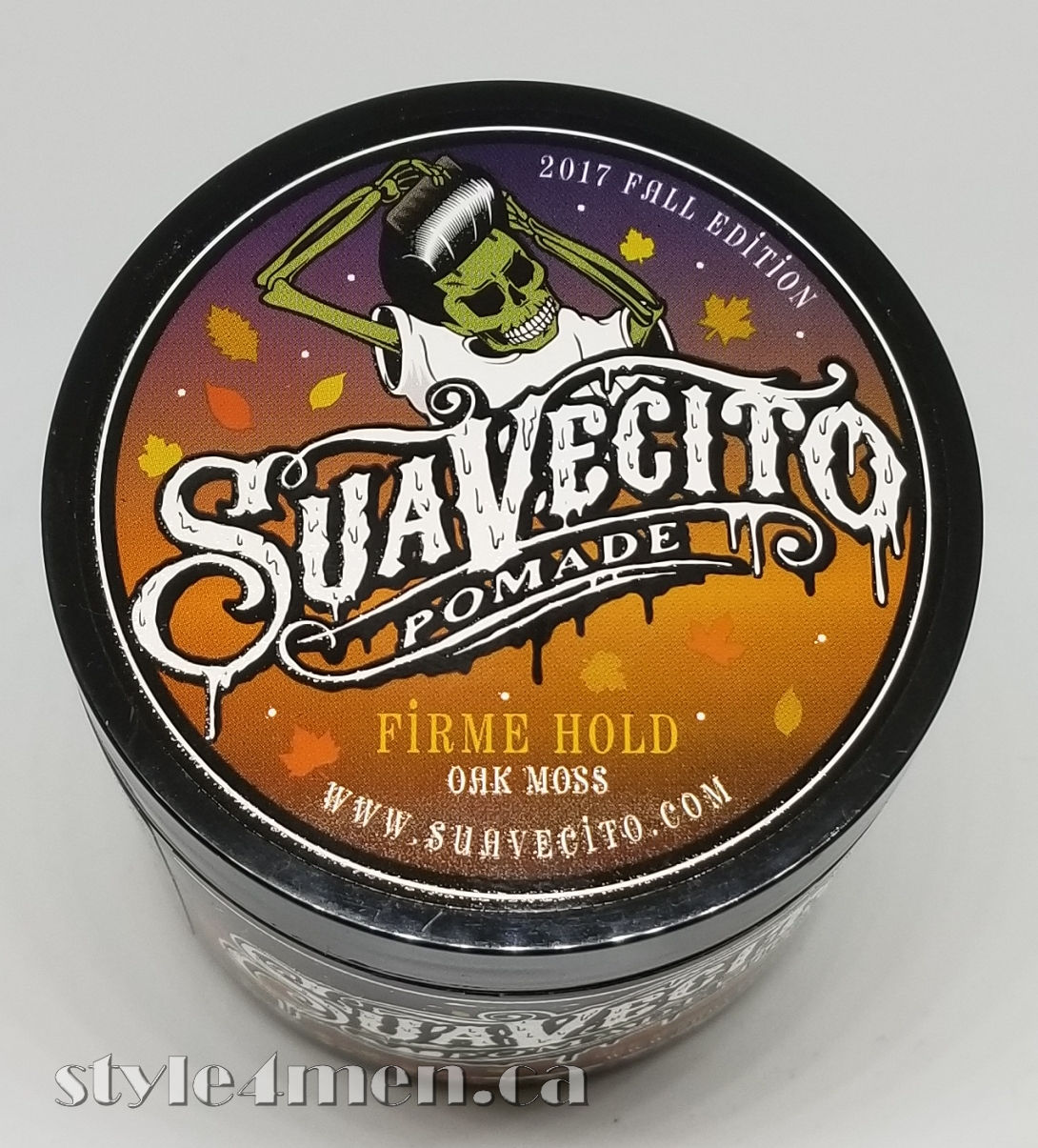Suavecito Fall 2017 Pomade Our Favorite Skull Does Halloween Original Firme Hold Strong Made In Usa Fall2017 3