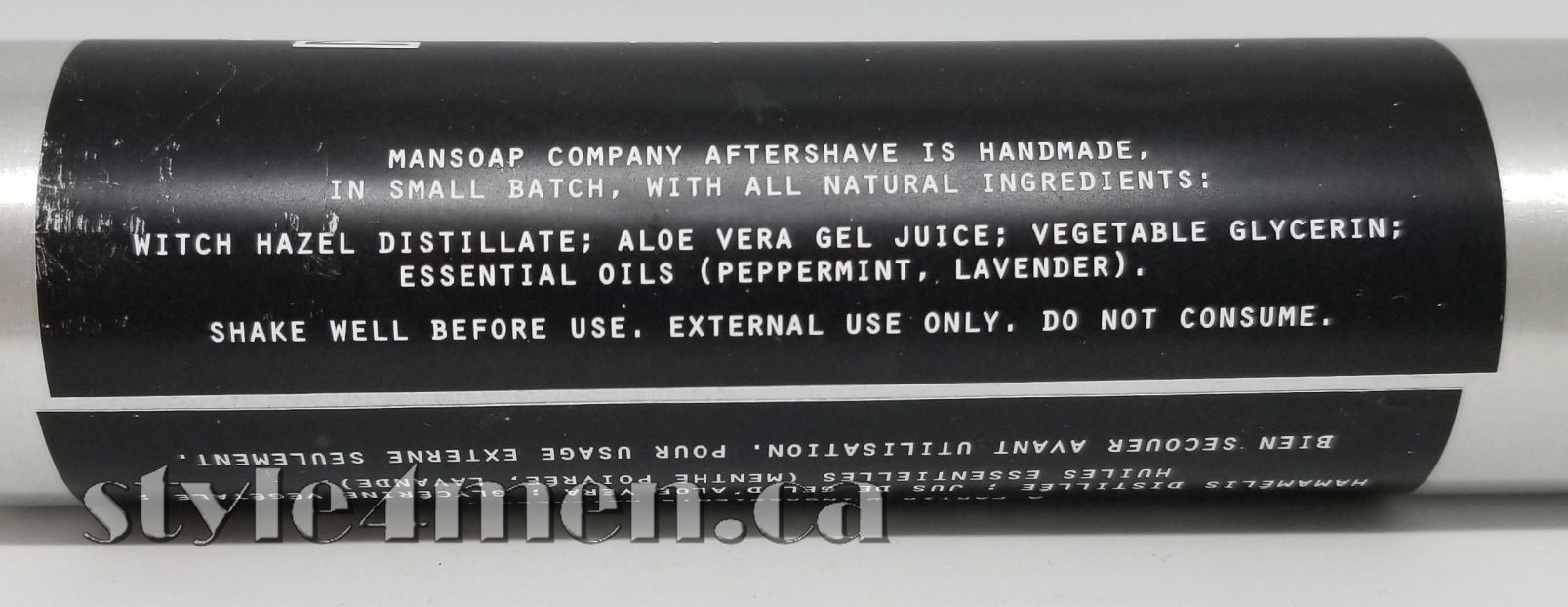 ManSoap Aftershave