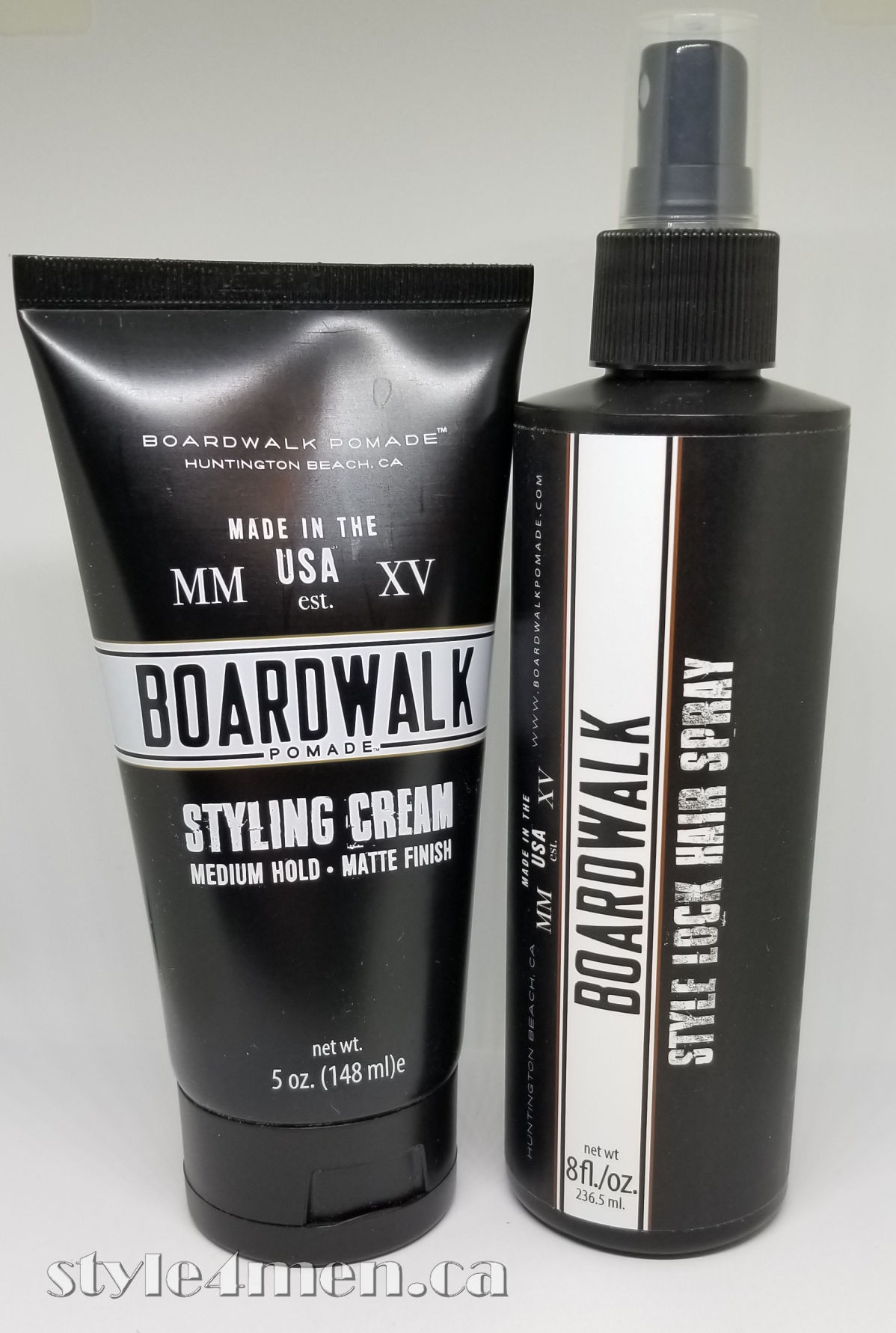 BOARDWALK does it again with their Styling Cream and Hair Spray