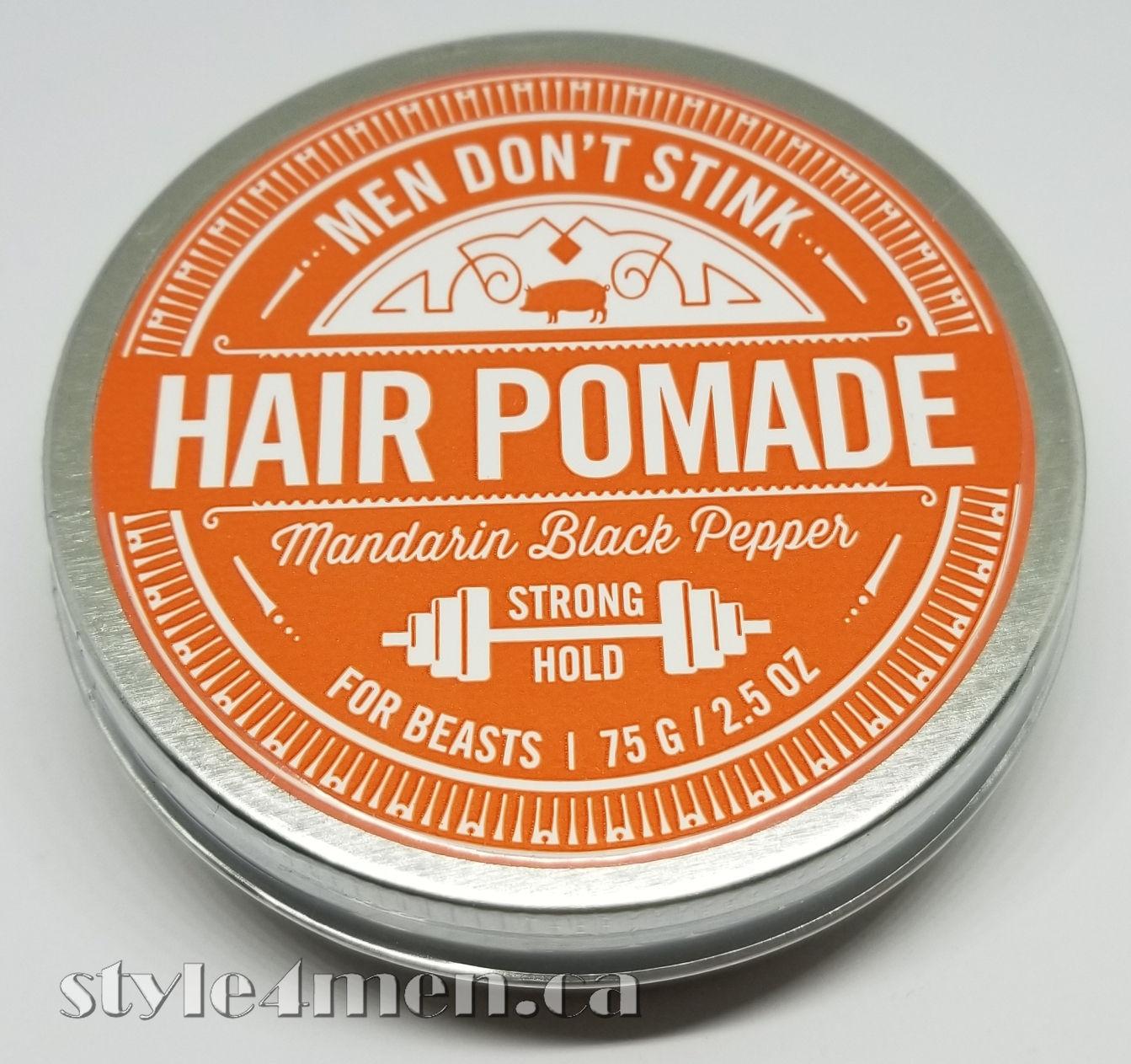 MEN DON'T STINK - Strong - Mandarin Black Pepper - Style4Men ca