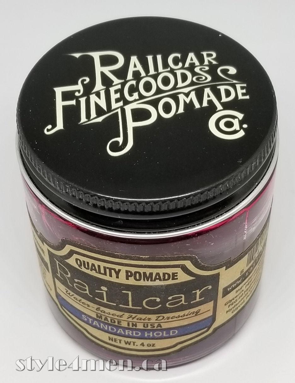 RAILCAR: A sweet luxurious pomade