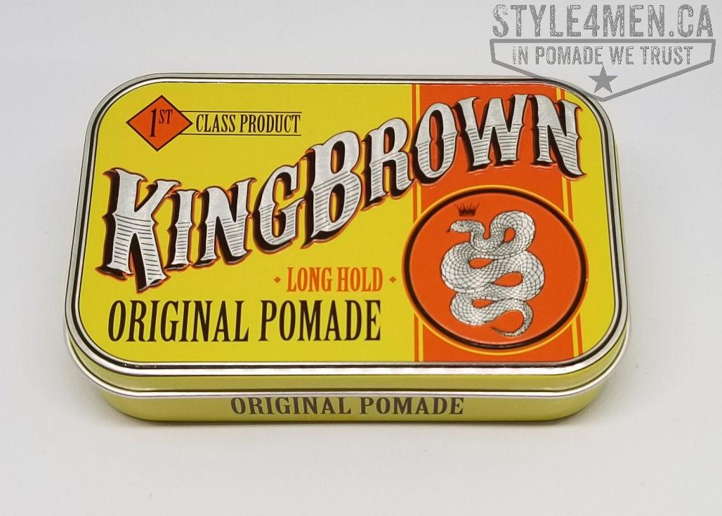 King Brown Original Pomade and Grooming Spray