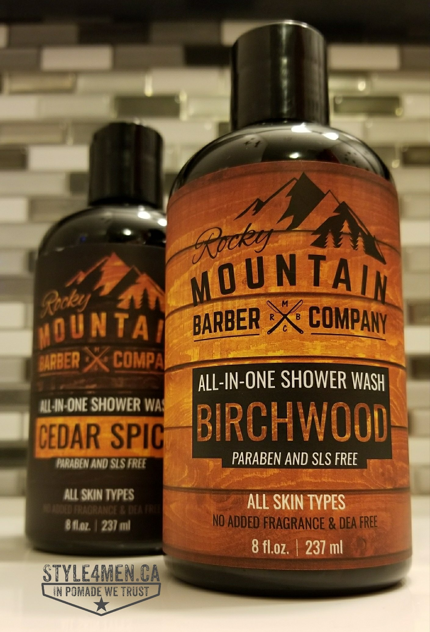 All-In-One Shower Wash from the Rocky Mountain Barber Co.