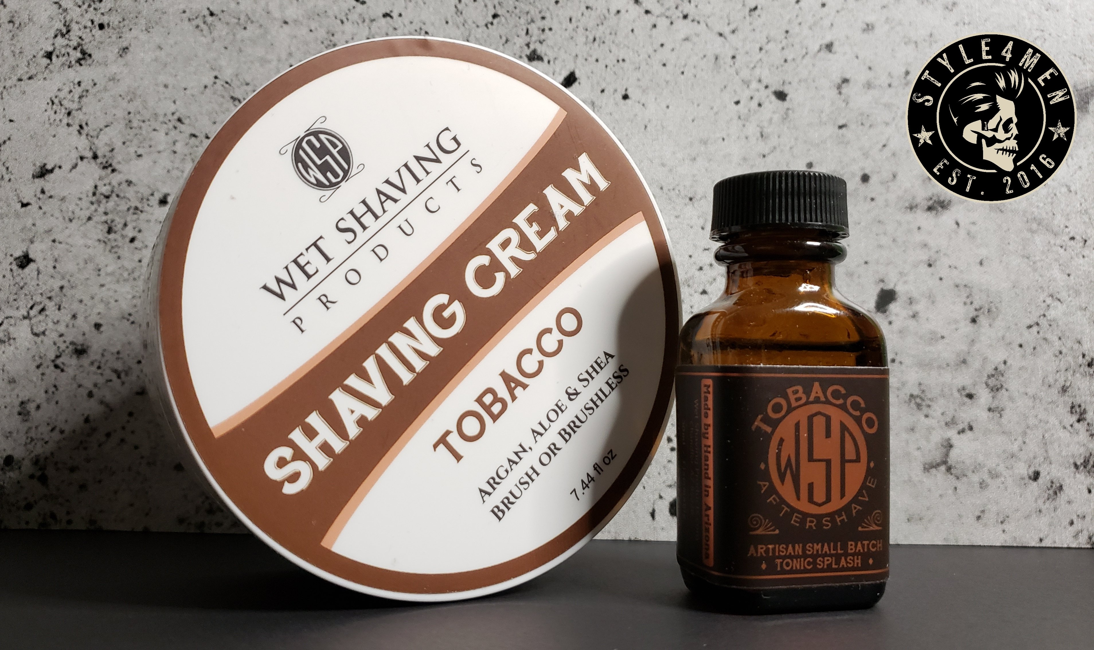 WSP Shave Cream and Aftershave