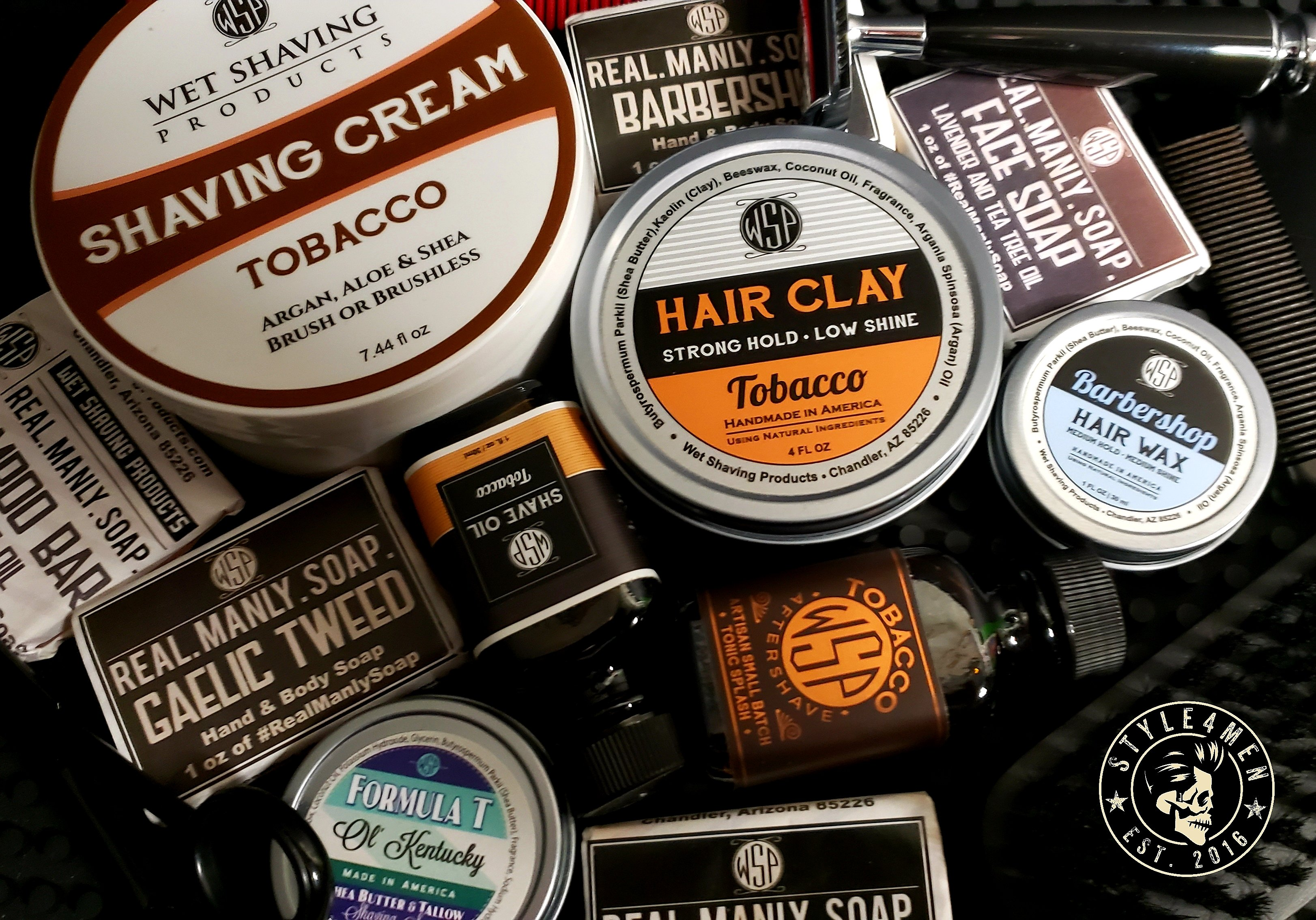 Unboxing goodies from Wet Shaving Products (WSP)