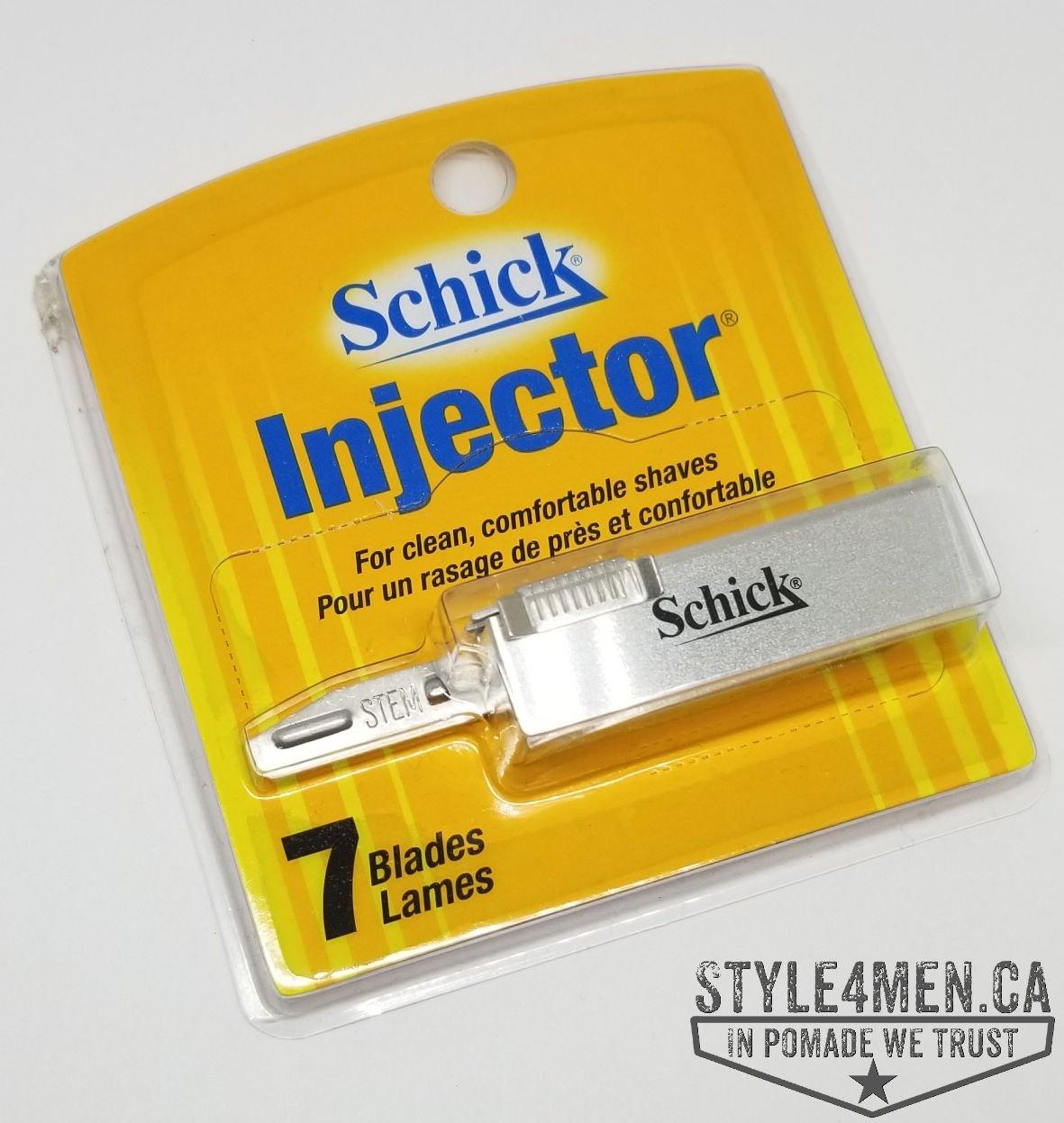 Schick Injector Blades