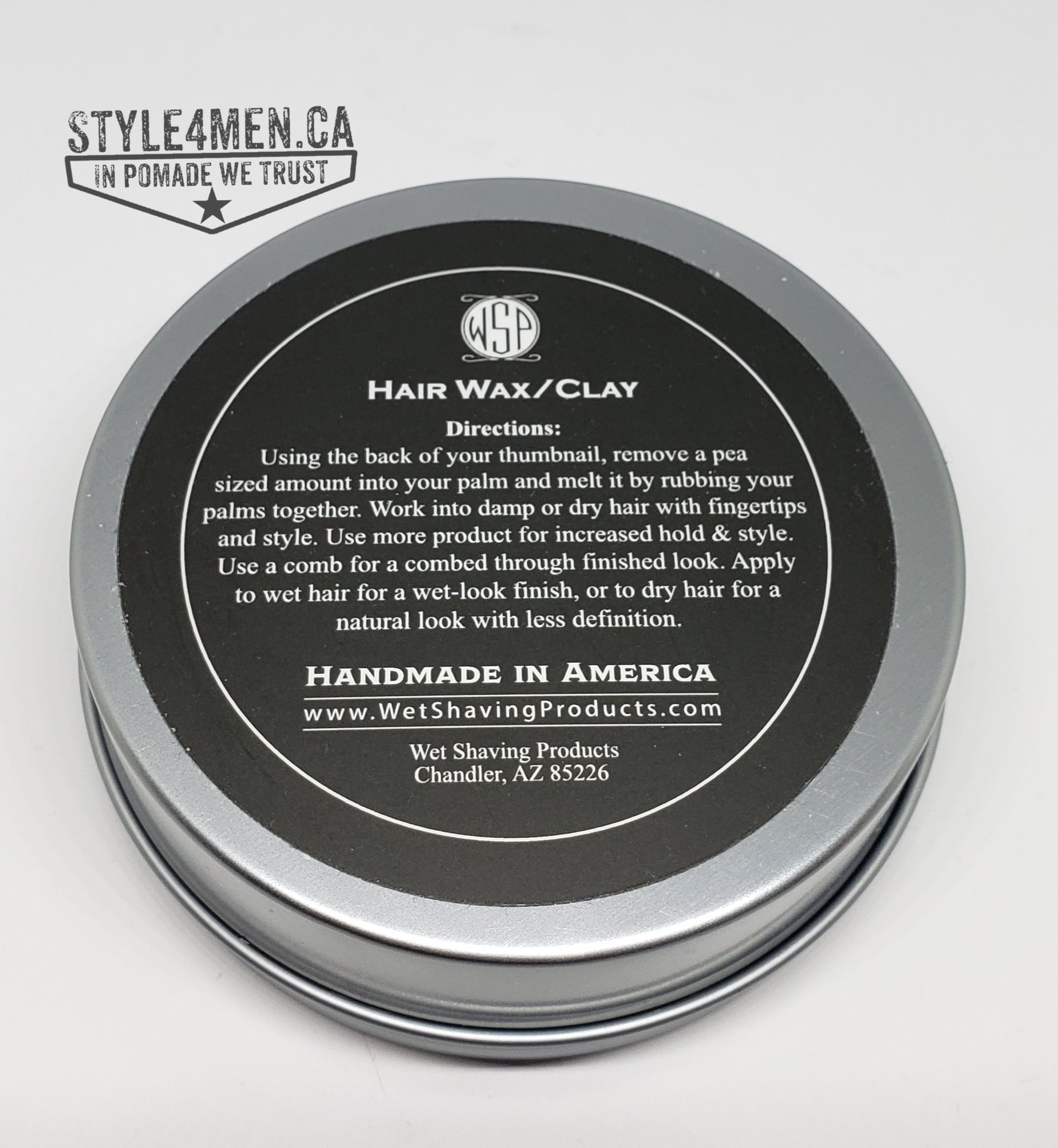 WSP Hair Clay