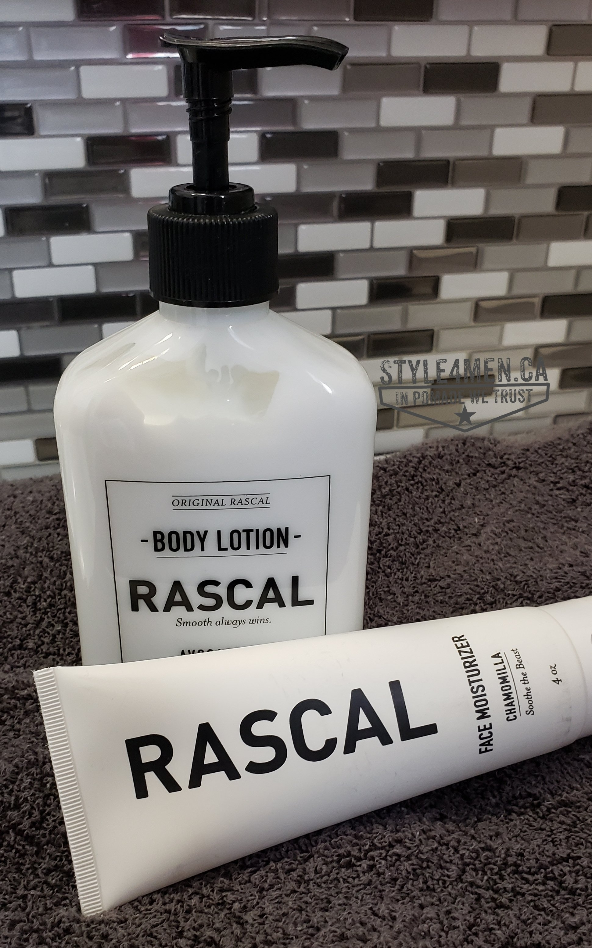 RASCAL MAN Body Lotion and Face Moisturizer