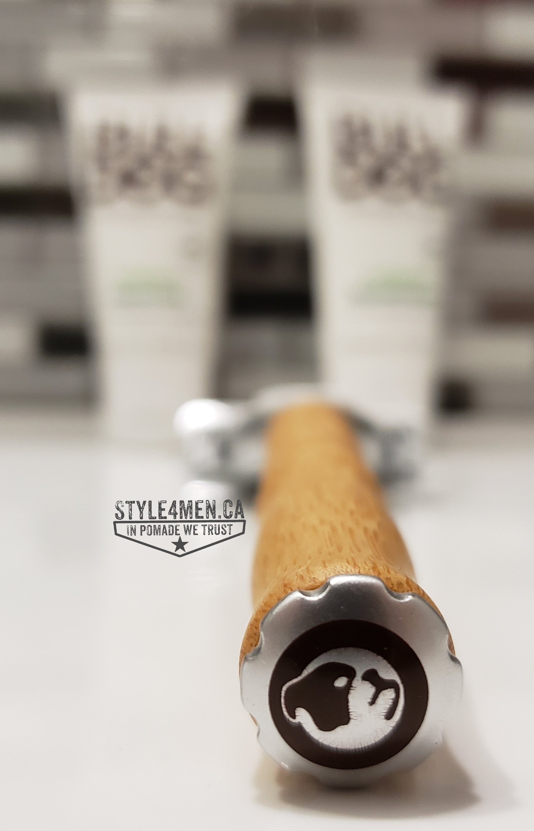 The new Bamboo handle razor by Bull Dog