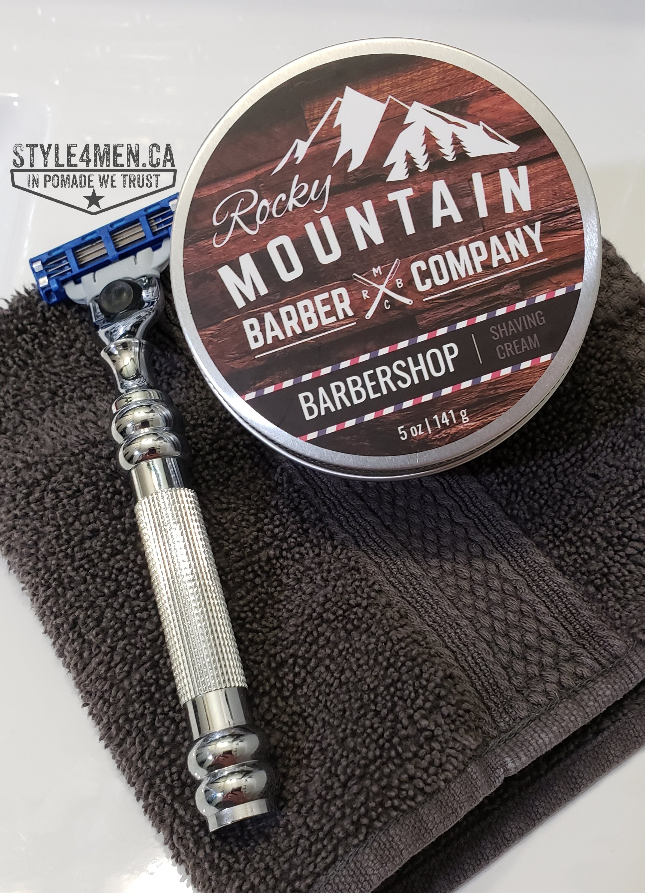 Rocky Mountain Barber Shaving Cream