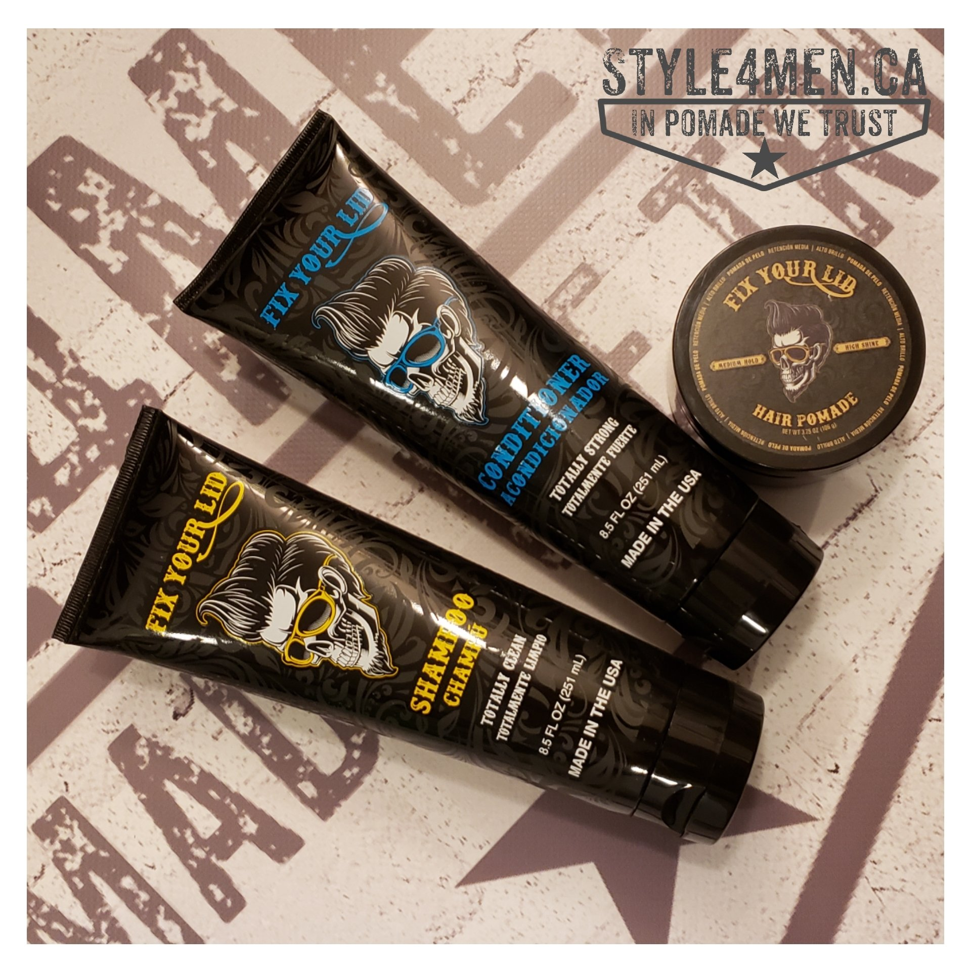 Grooming Gear by FIX YOUR LID
