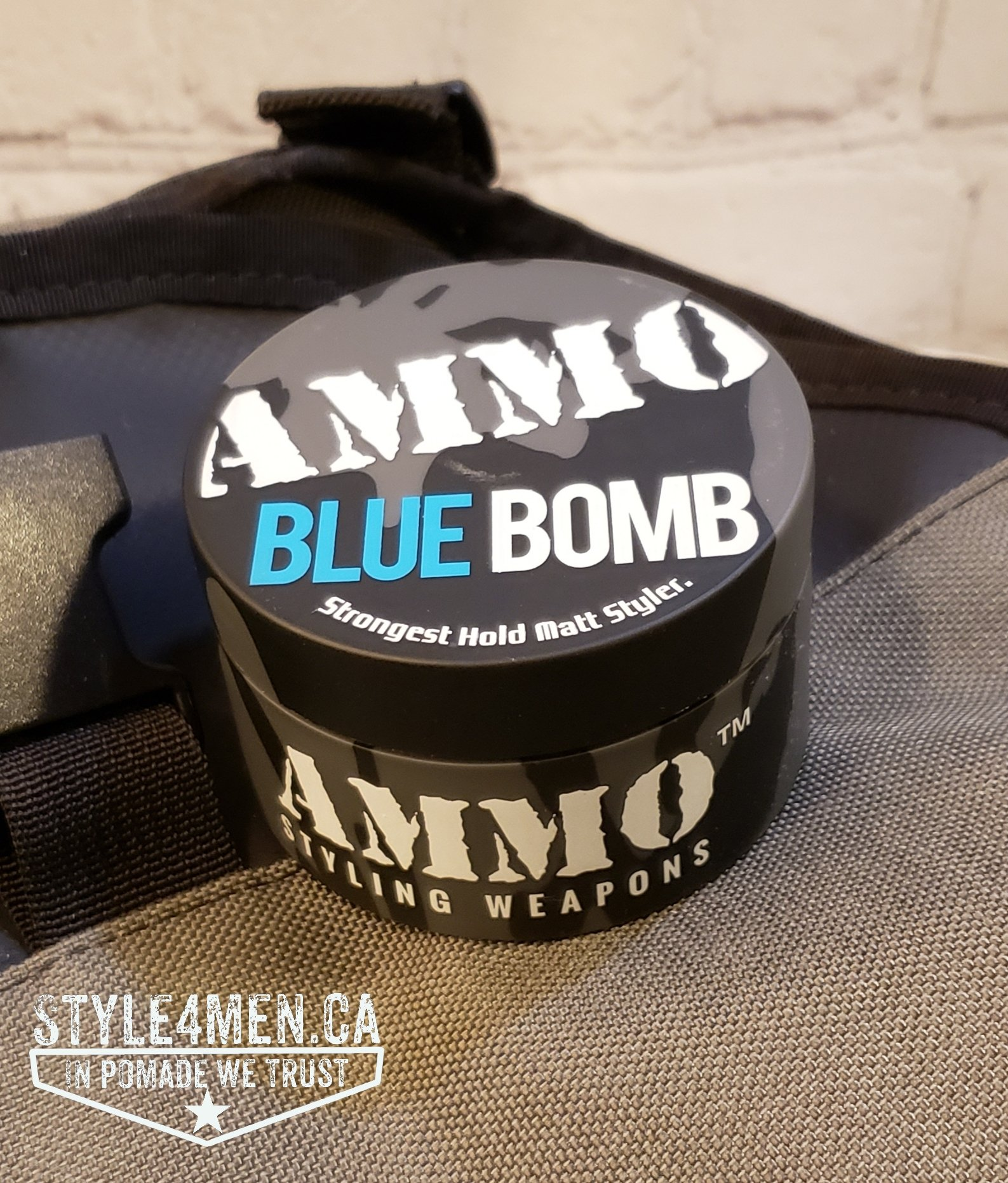 Blue Bomb High Performance Hair Clay by AMMO