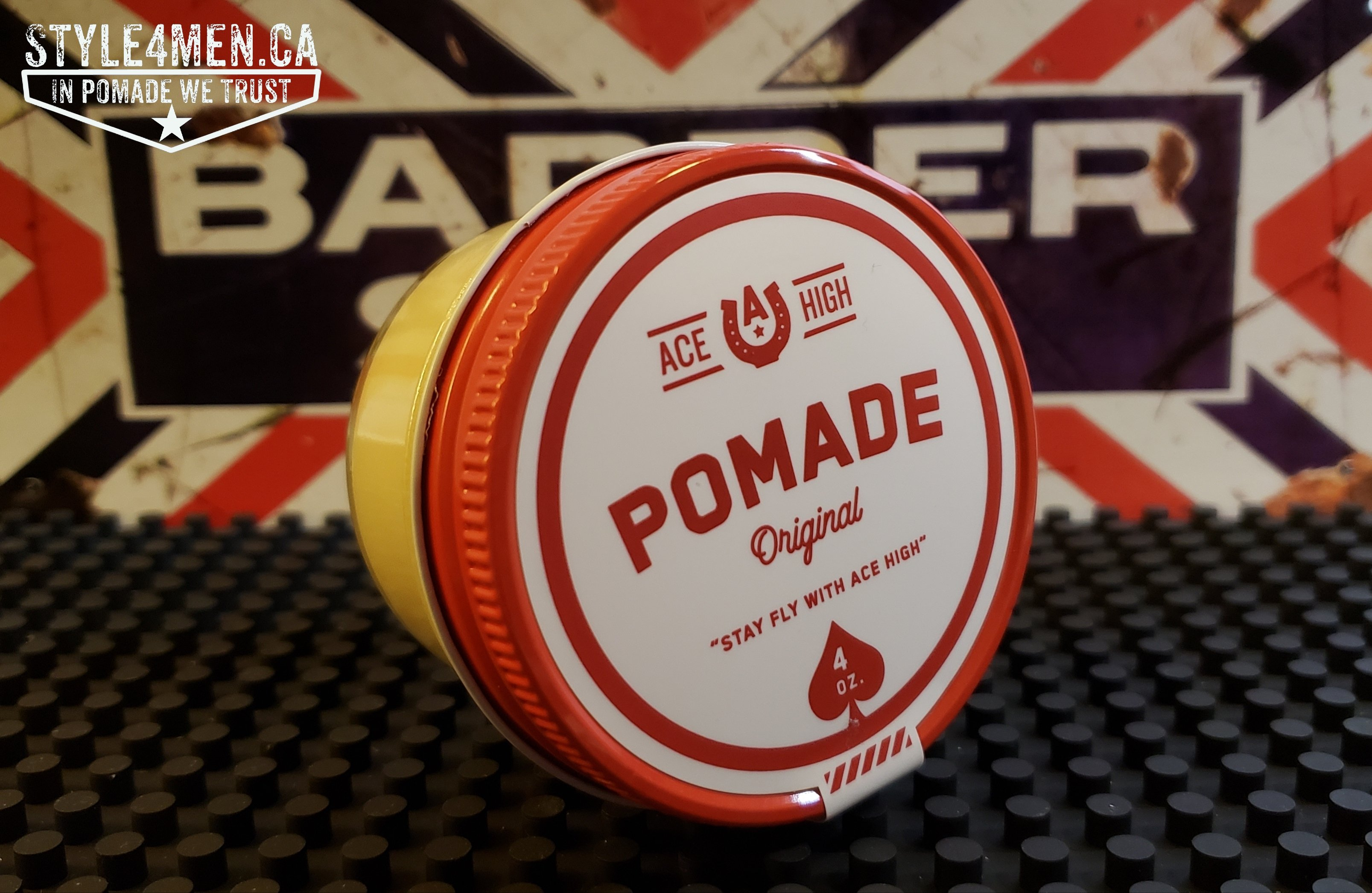 The unexpected Pomade Original by ACE HIGH Co.