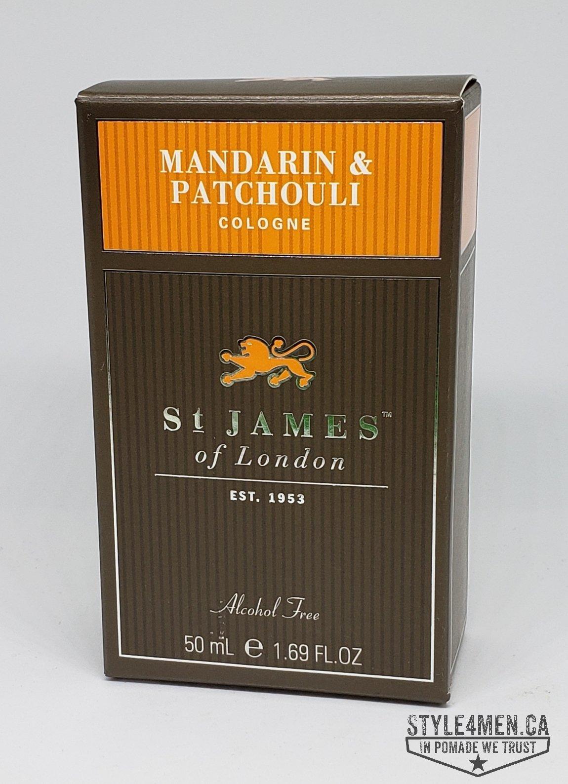 St. James Mandarin & Patchouli