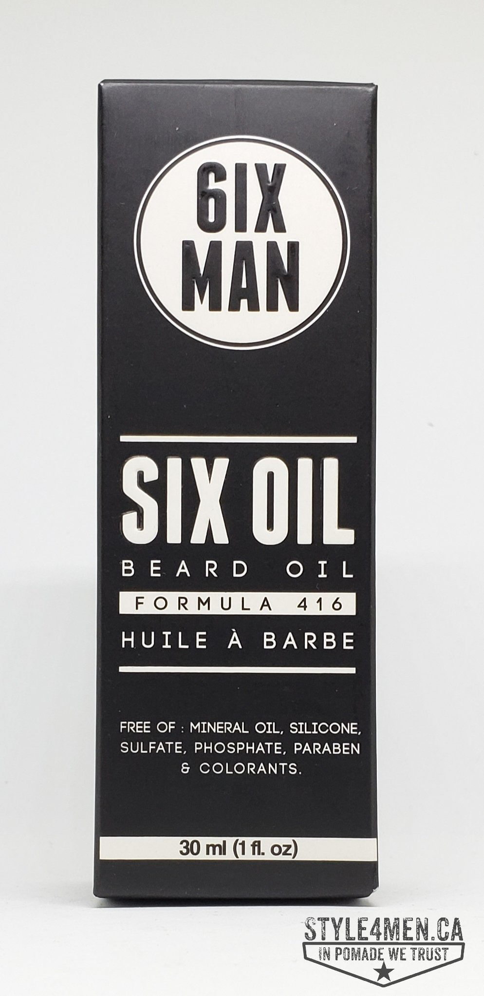 6IX MAN Beard Oil