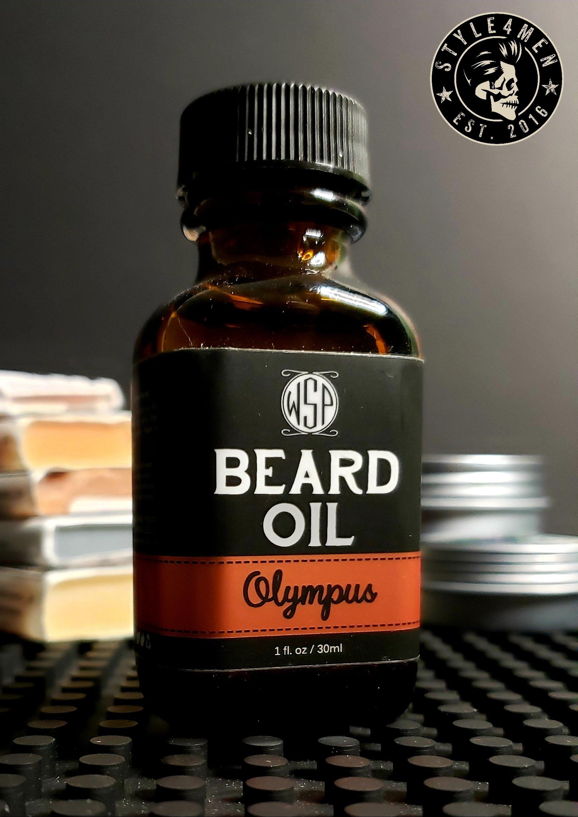 Olympus Beard Oil by WSP