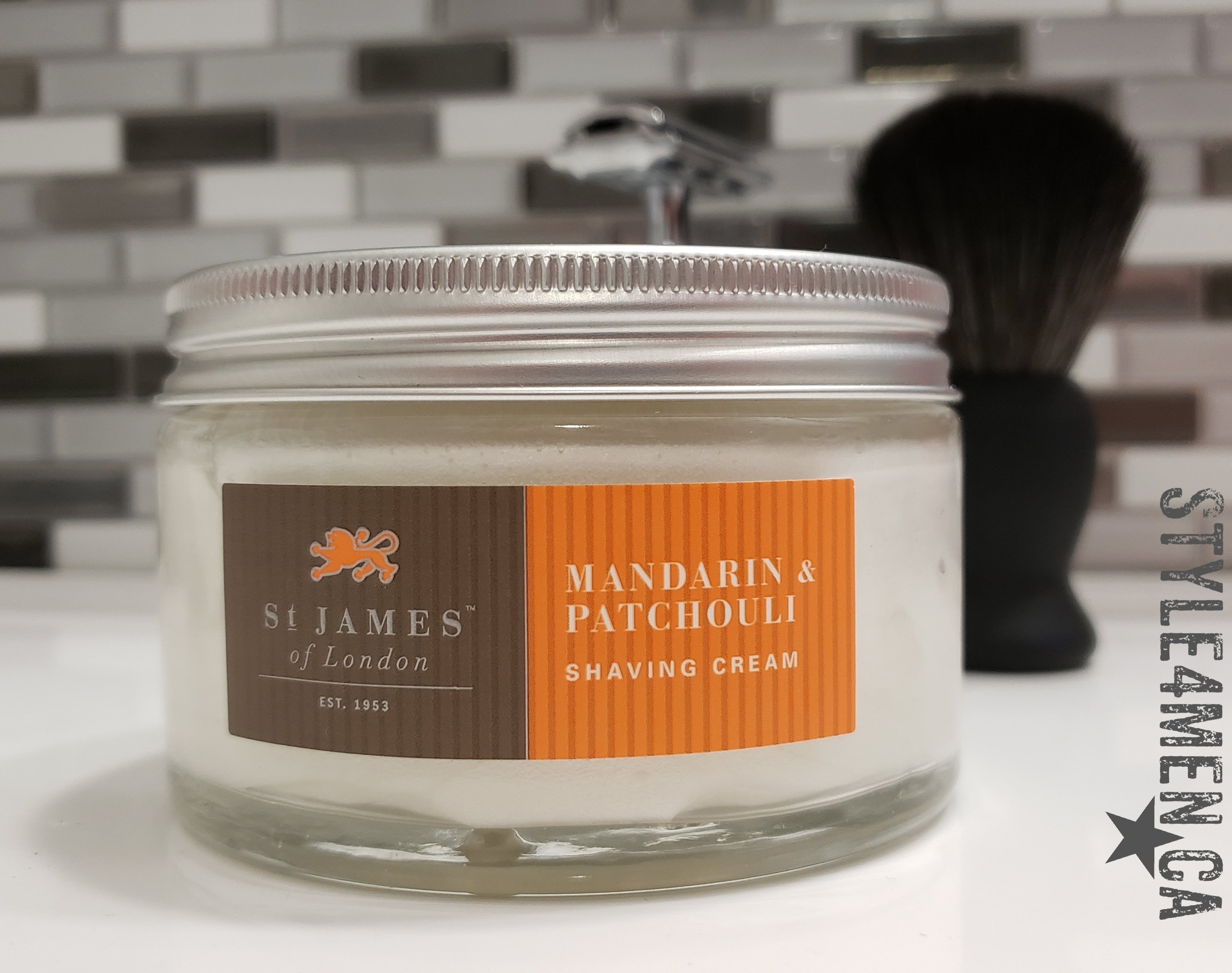 Working with the St. James of London Shaving Cream