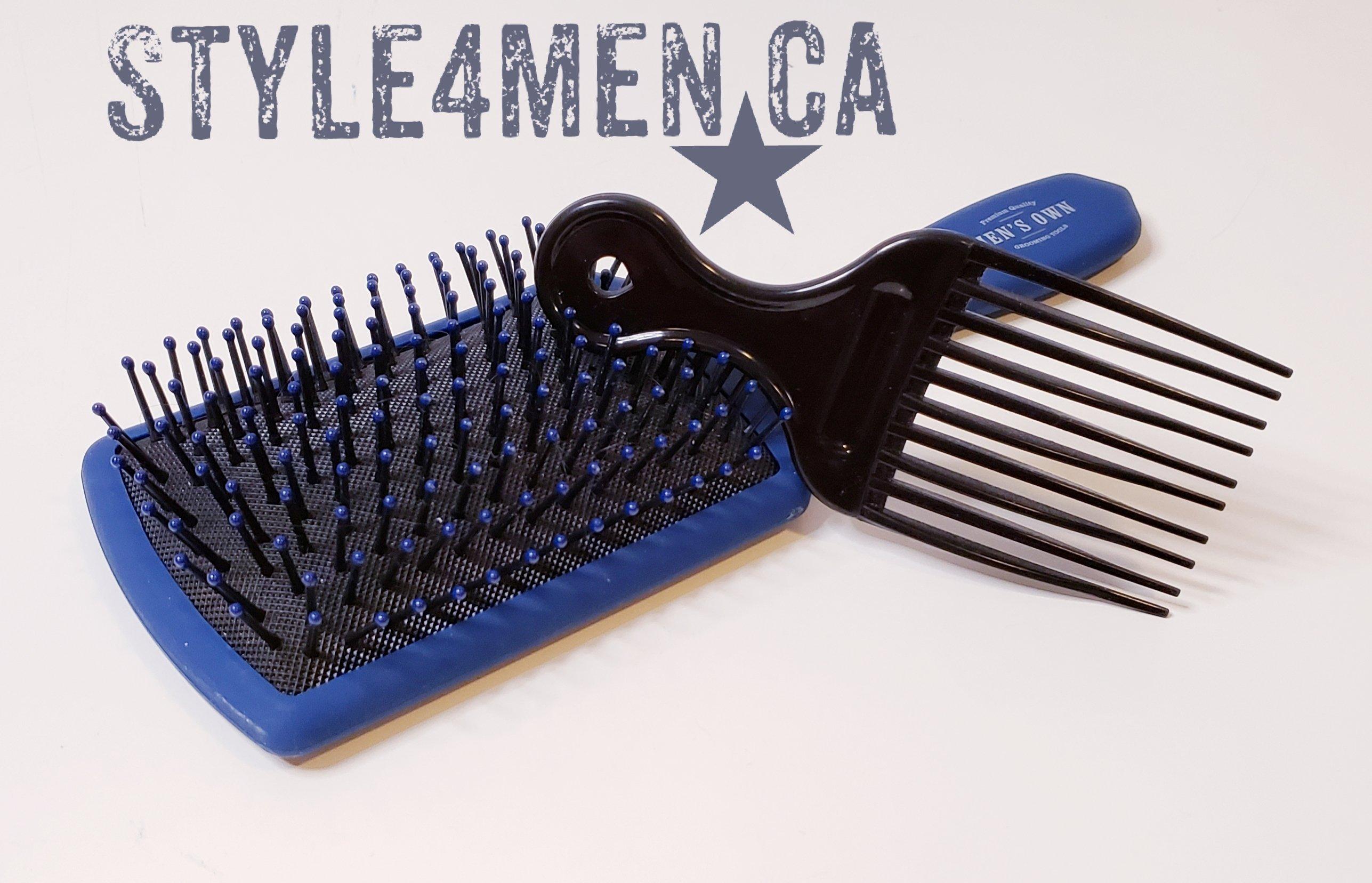 Brush & Hair Pick