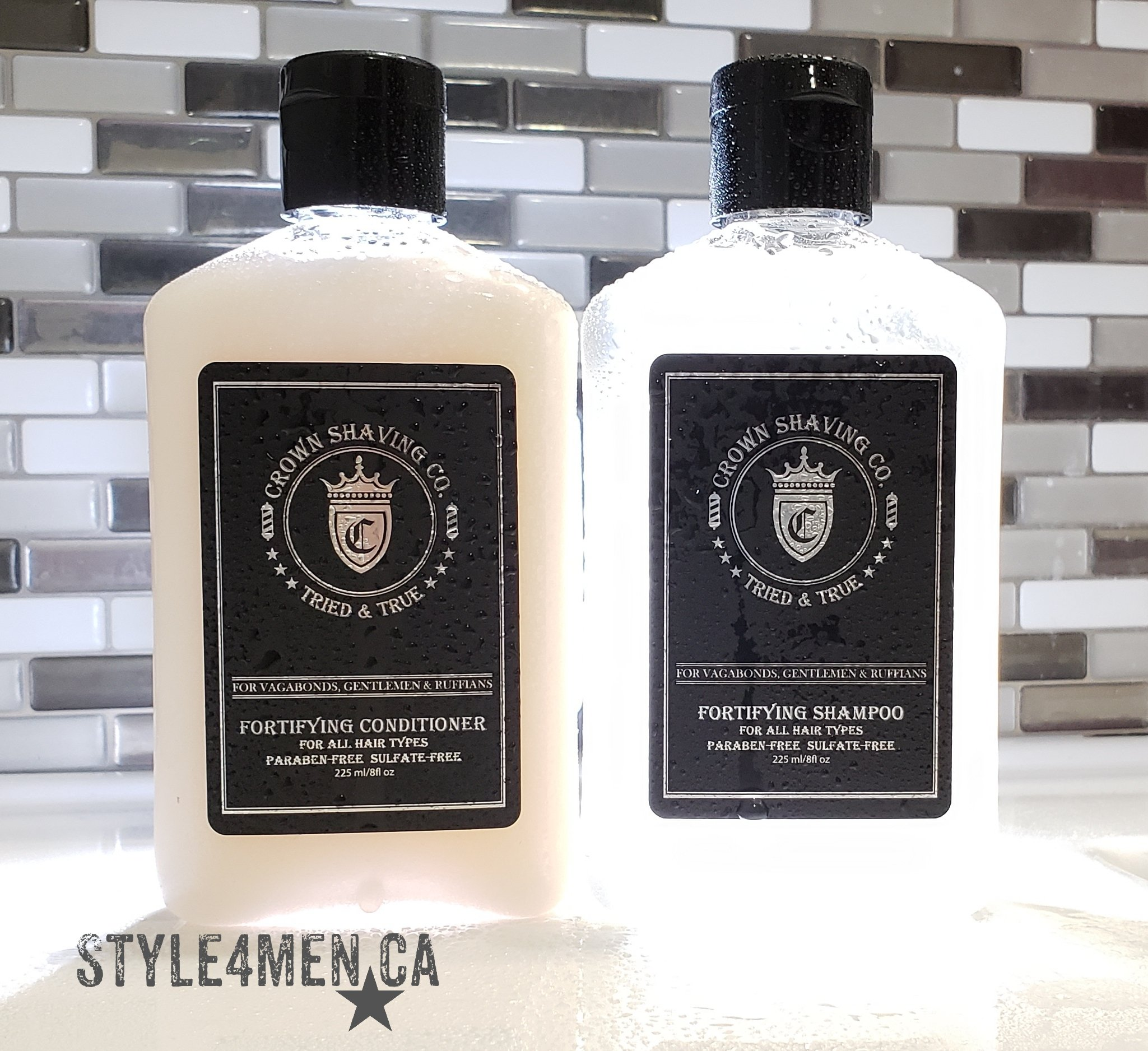 Crown Shaving Shampoo Conditioner