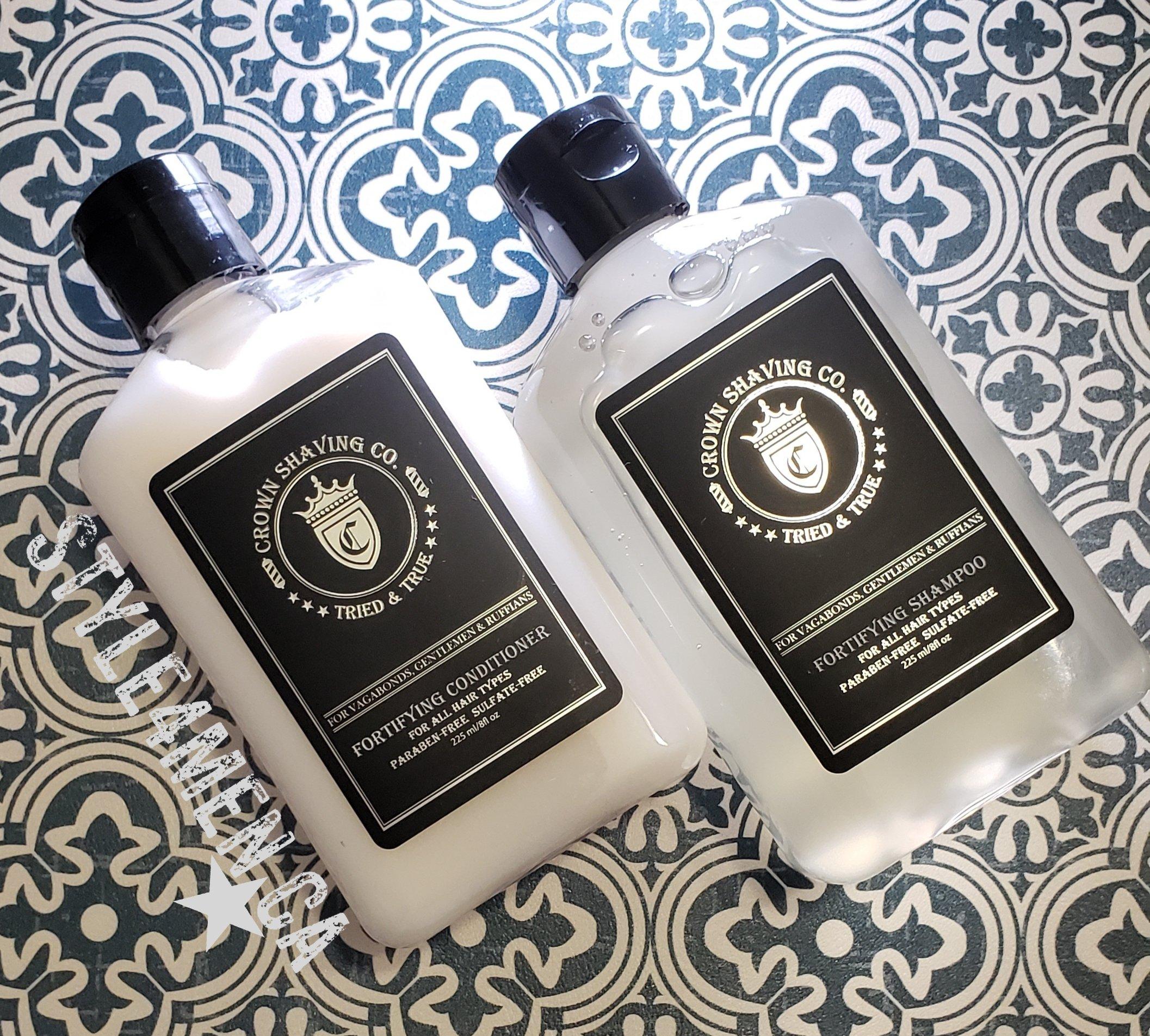 Crown Shaving Shampoo Conditioner