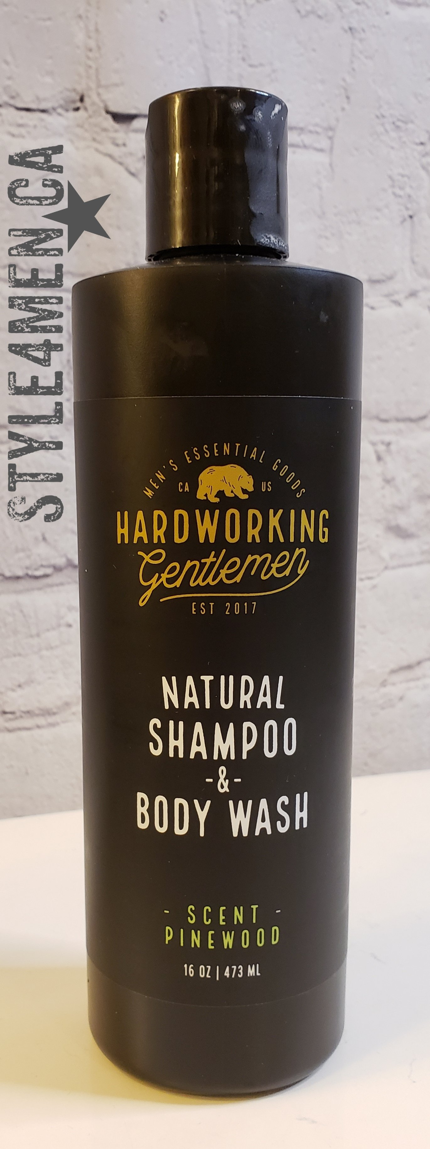 Hardworking Gentlemen Body Wash