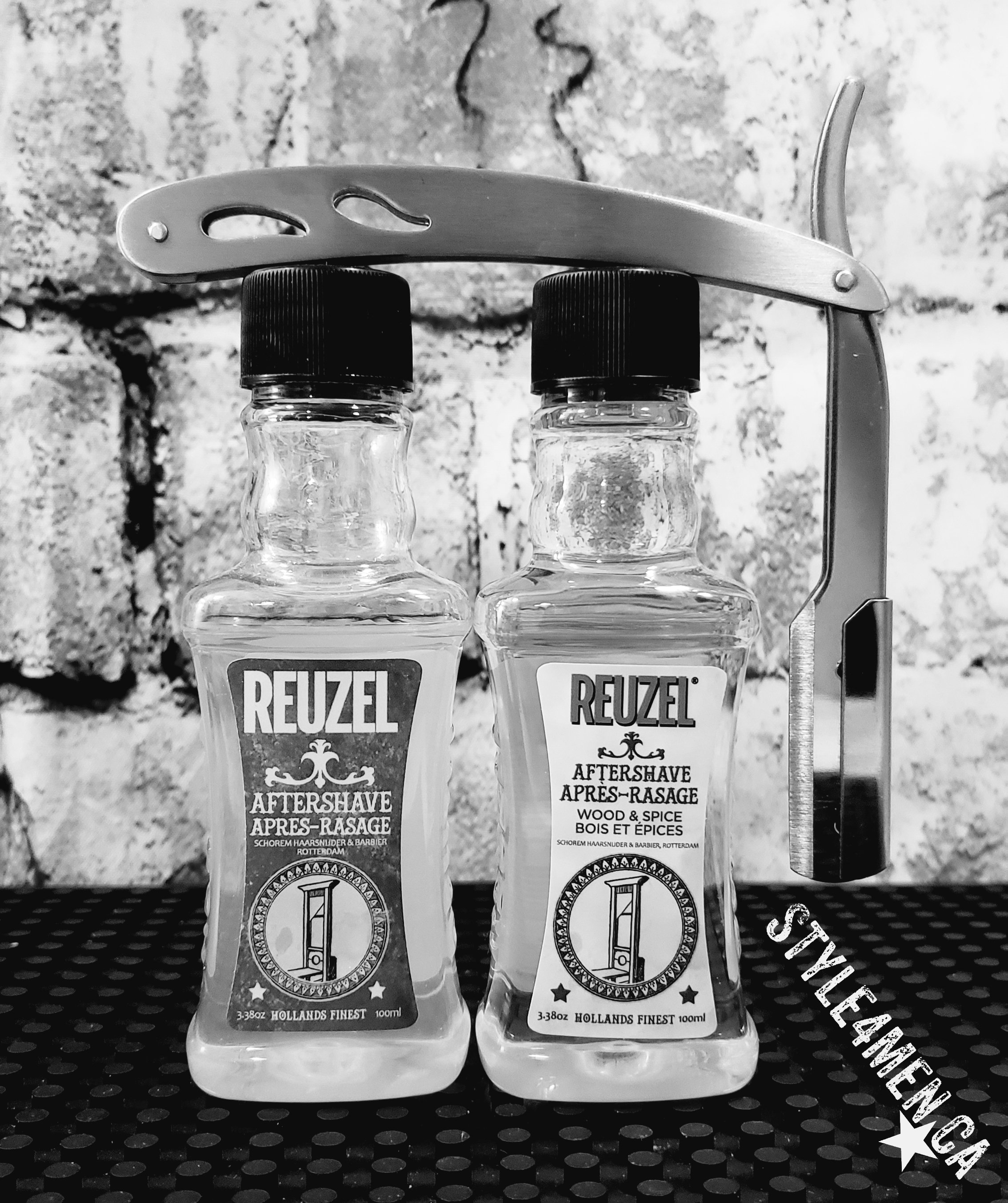 REUZEL aftershaves