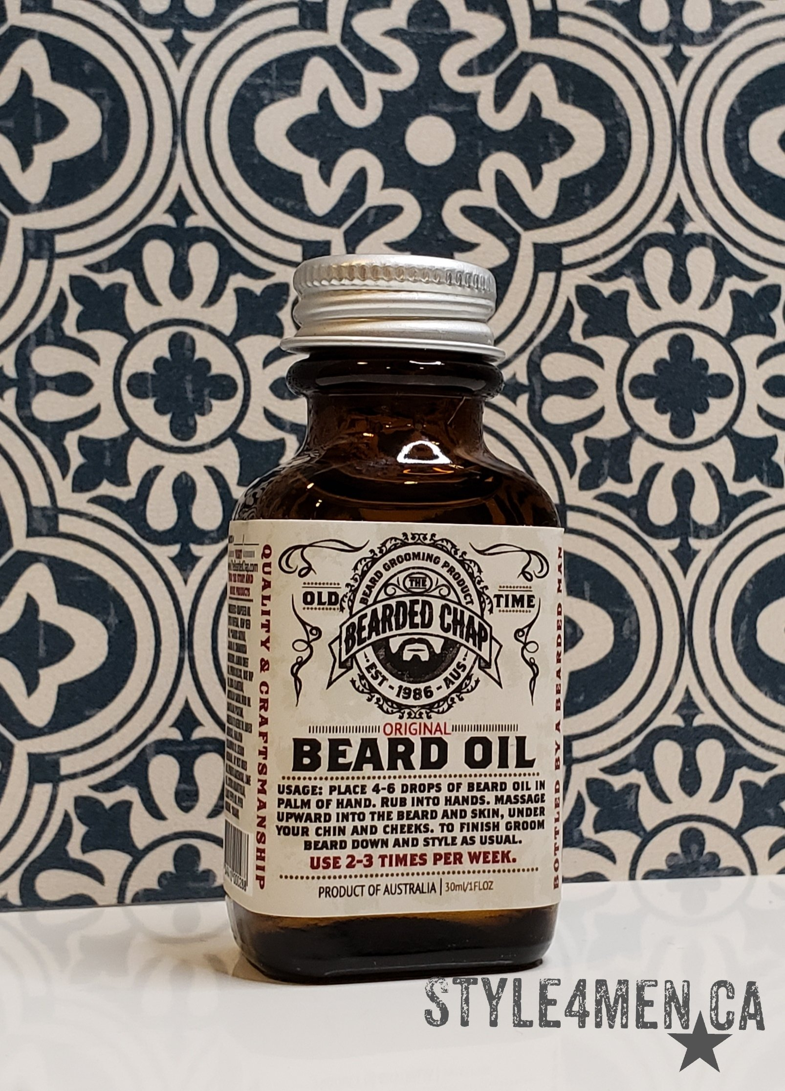 Beard Oil by Bearded Chap